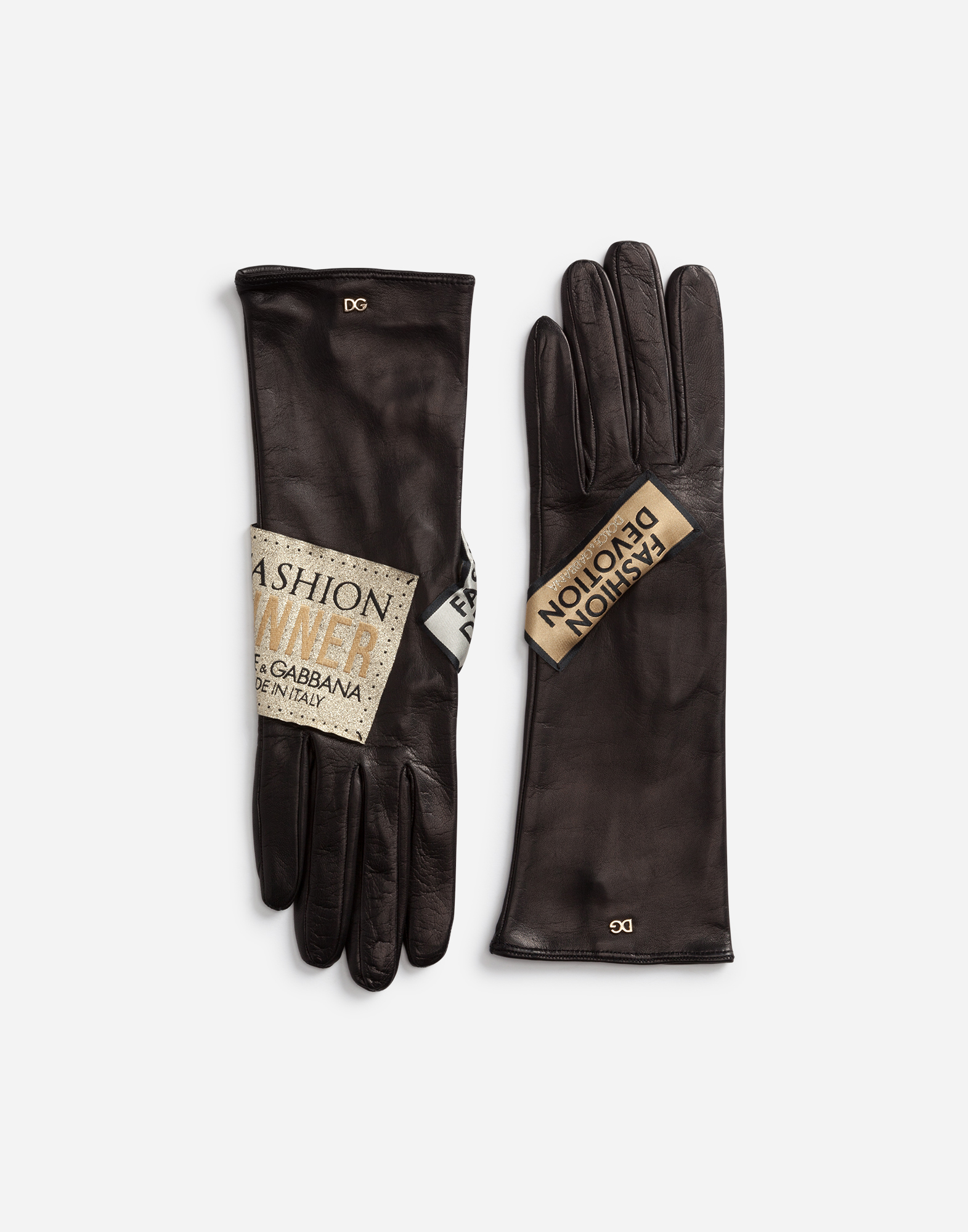 Dolce & Gabbana NAPPA LEATHER GLOVES