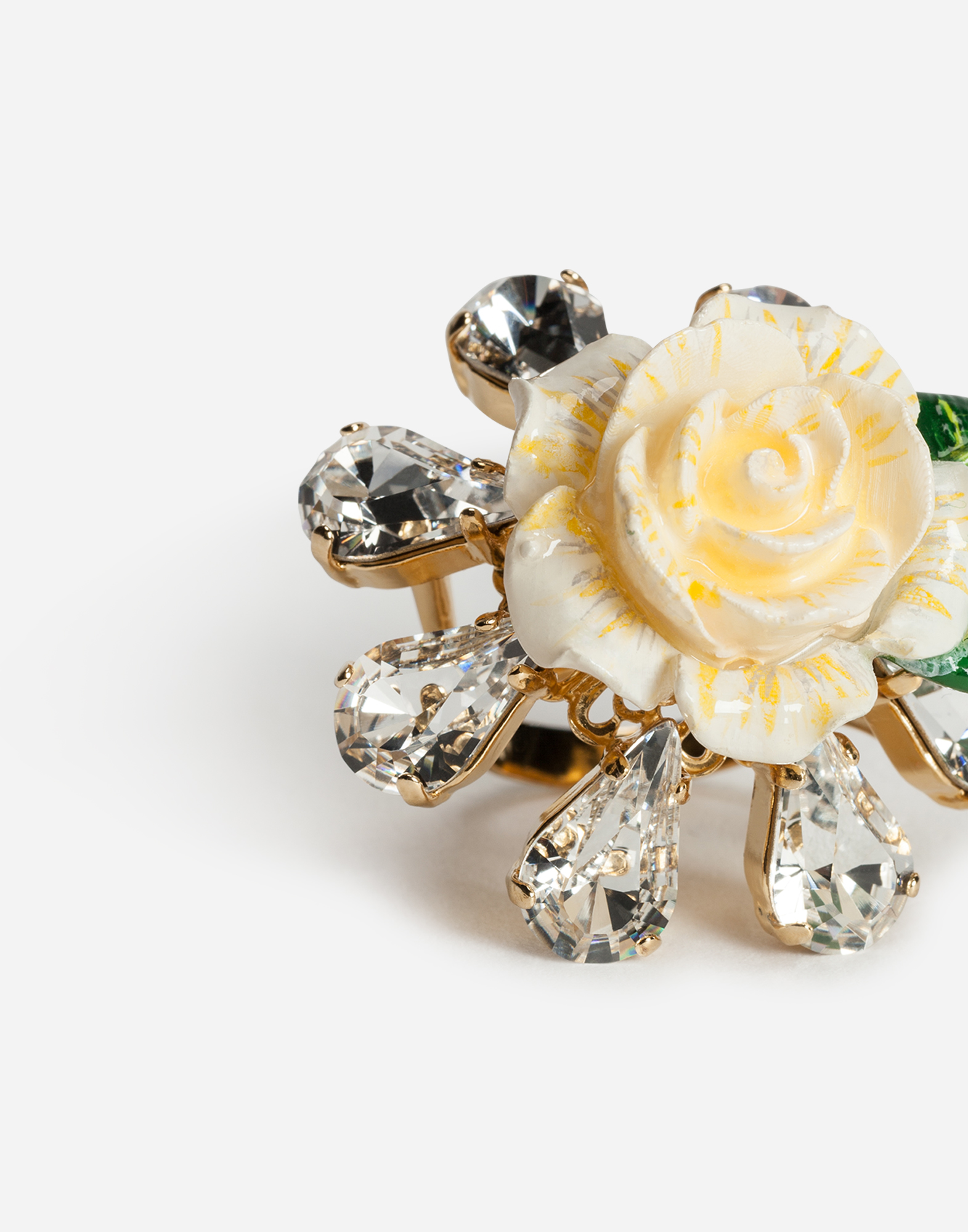 RING WITH ROSE