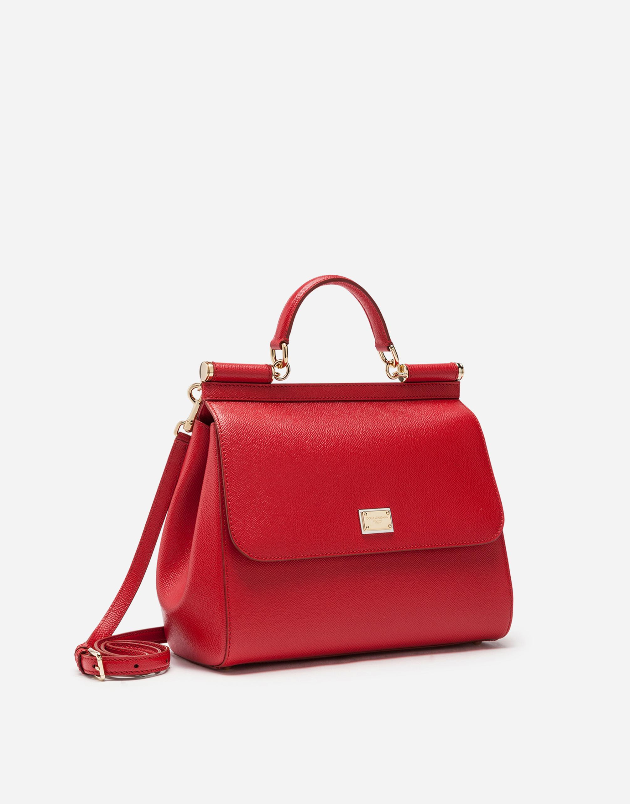 Dolce&Gabbana DAUPHINE LEATHER REGULAR SICILY BAG