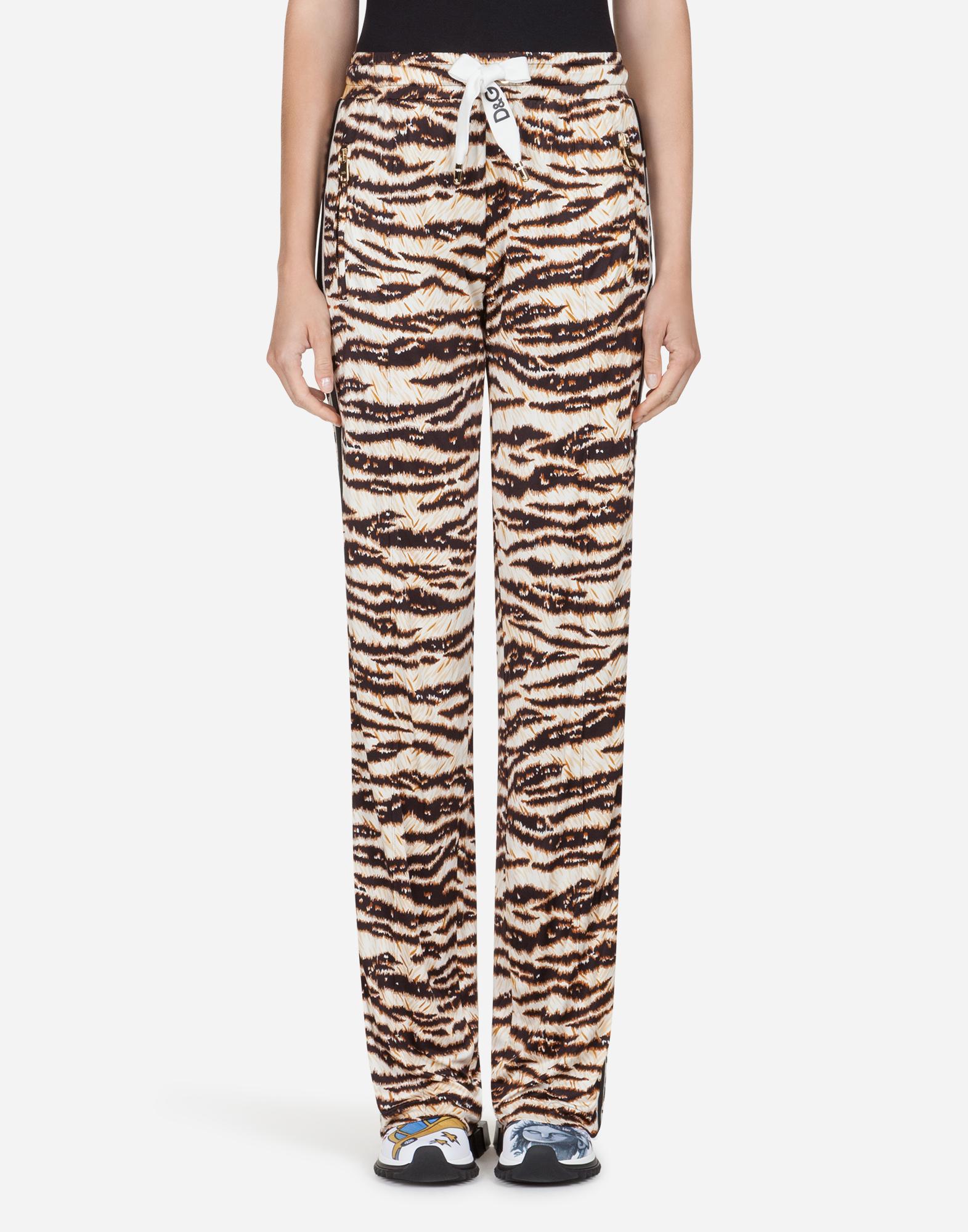 Dolce&Gabbana PRINTED VISCOSE PANTS