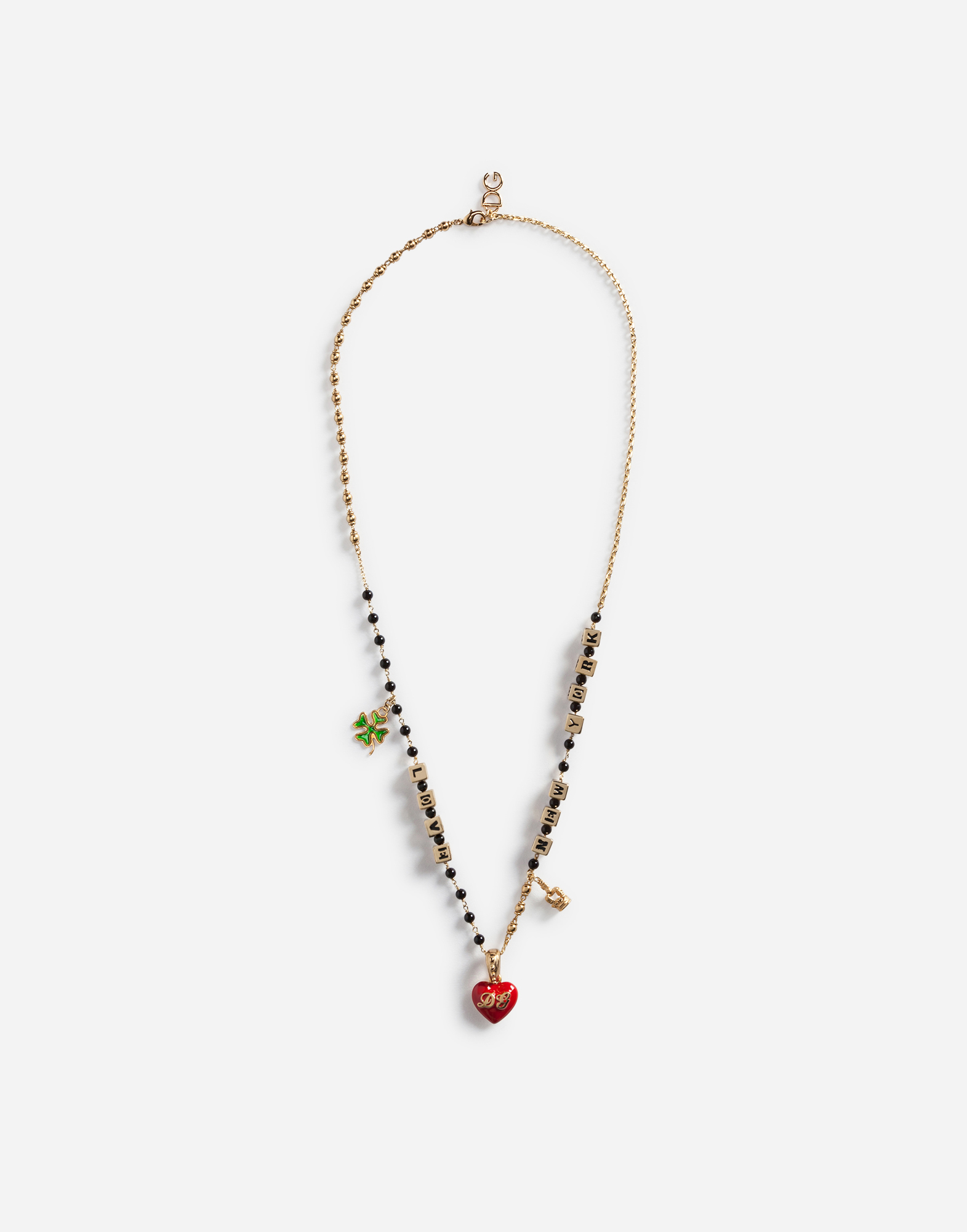 Dolce&Gabbana NECKLACE WITH DG PENDANT
