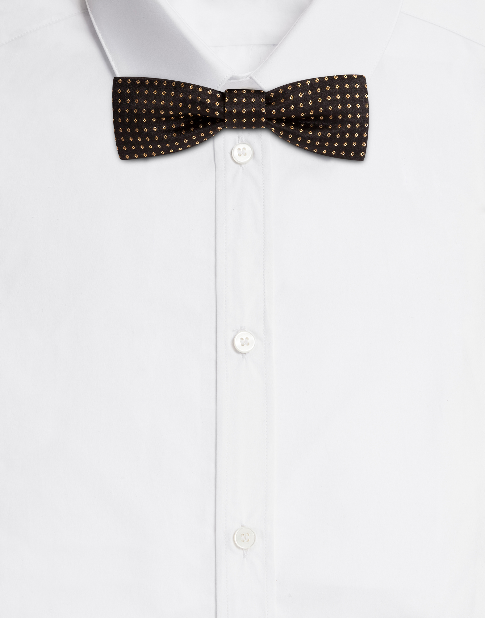 Dolce & Gabbana BOW-TIE IN JACQUARD SILK