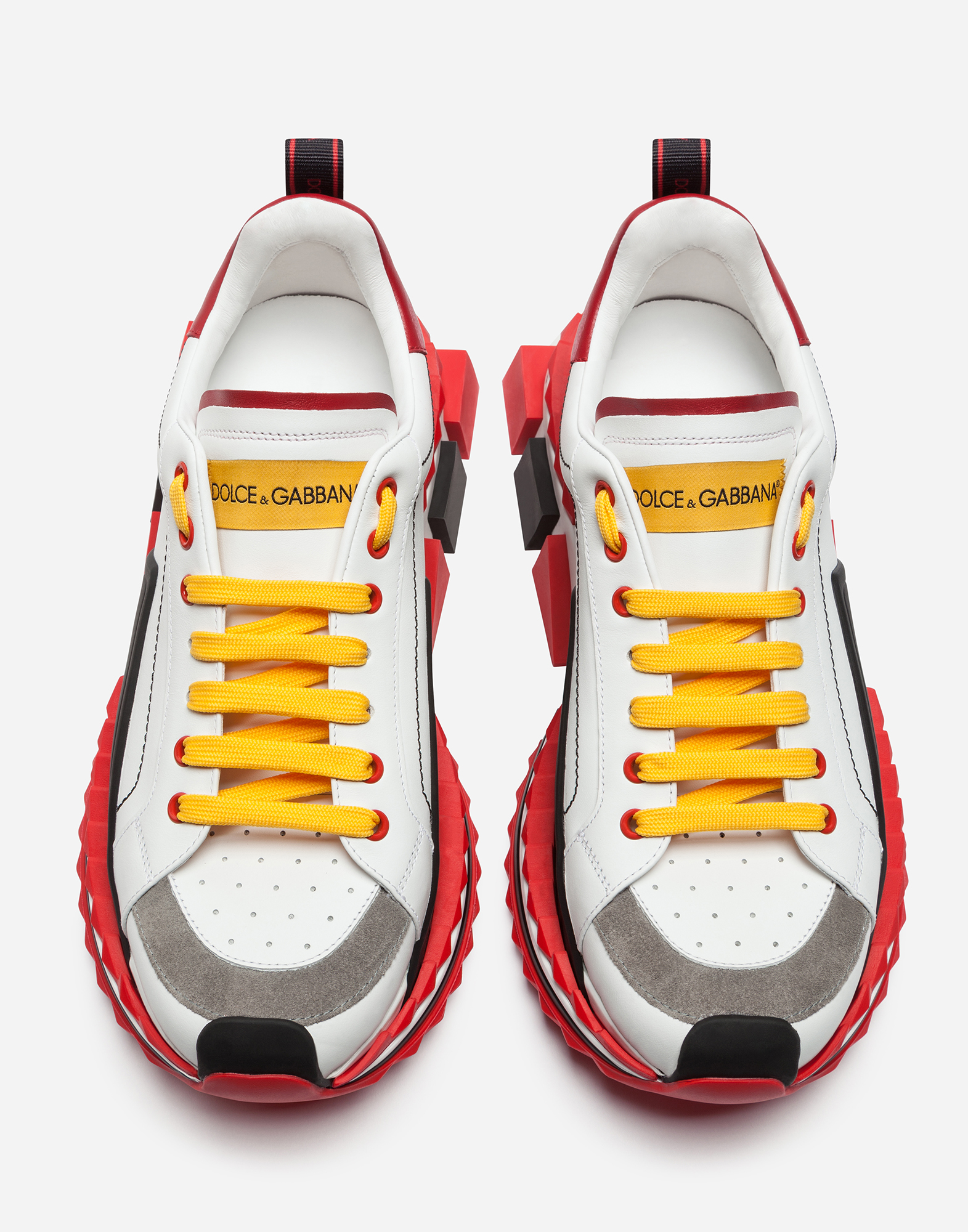 Multi Colored Super King Sneakers Men S Shoes Dolce