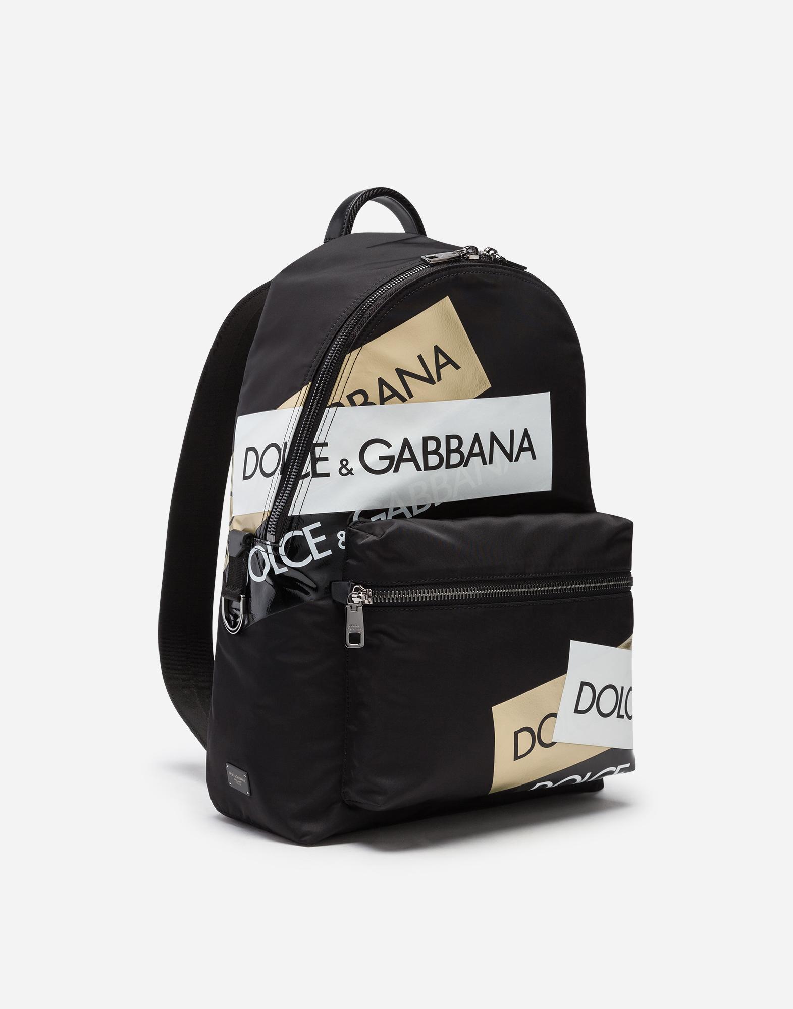 Dolce & Gabbana PRINTED NYLON VULCANO BACKPACK
