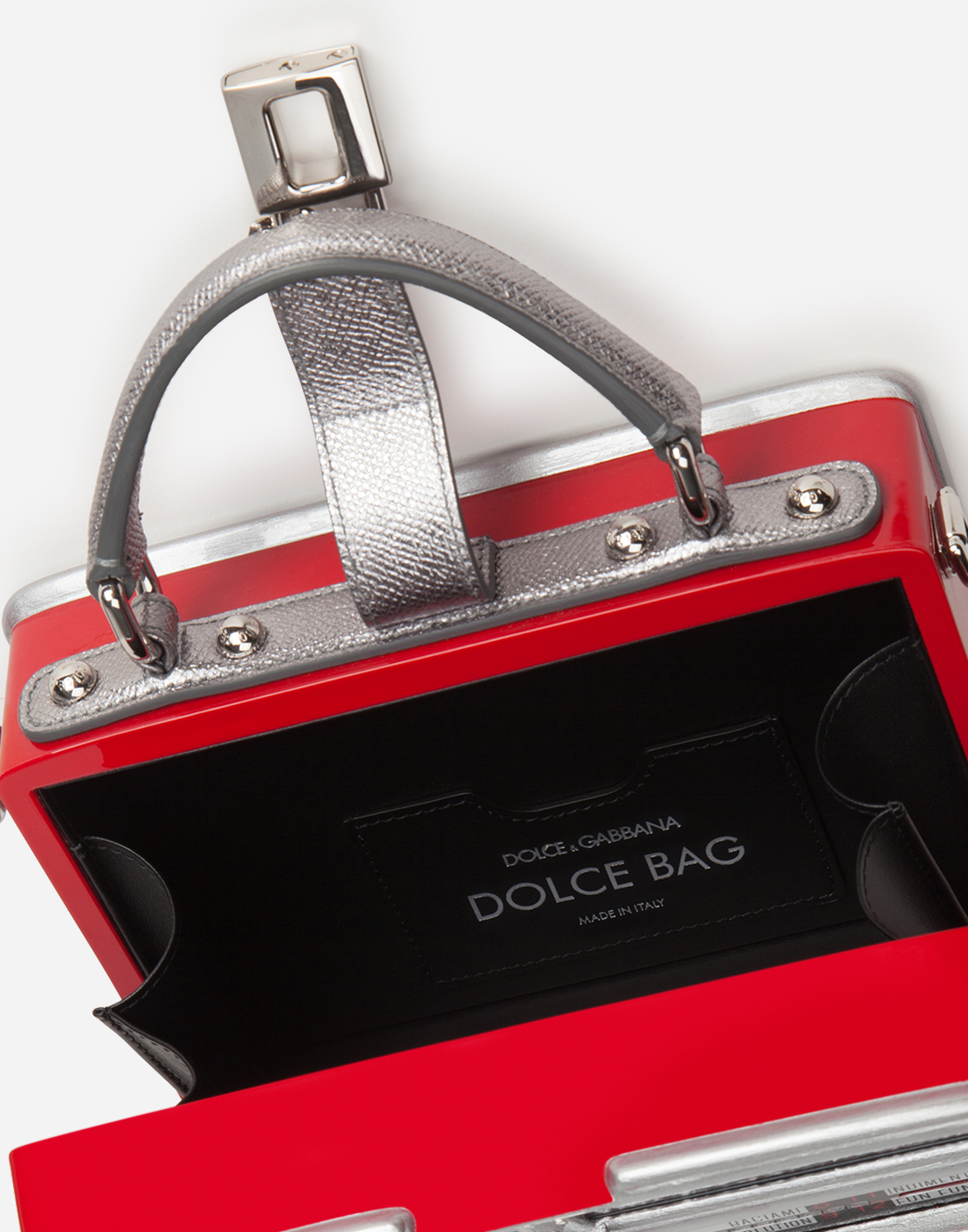 """JUKE-BOX"" DOLCE BOX BAG"