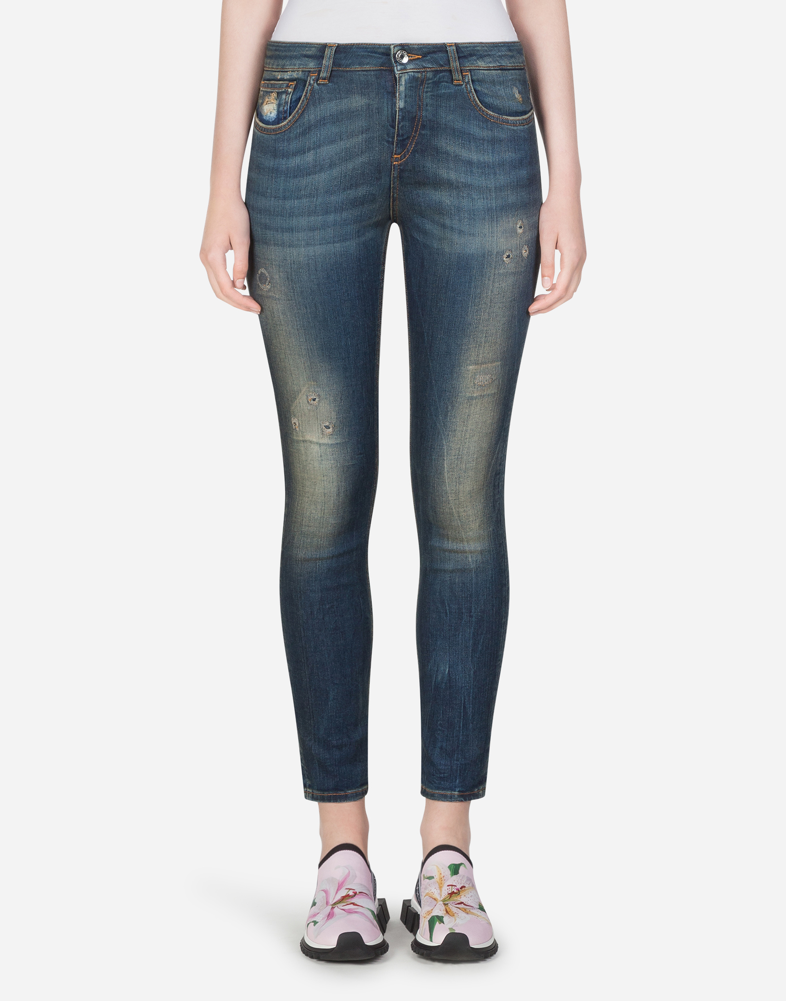 Dolce & Gabbana DENIM STRETCH FIT PRETTY JEANS