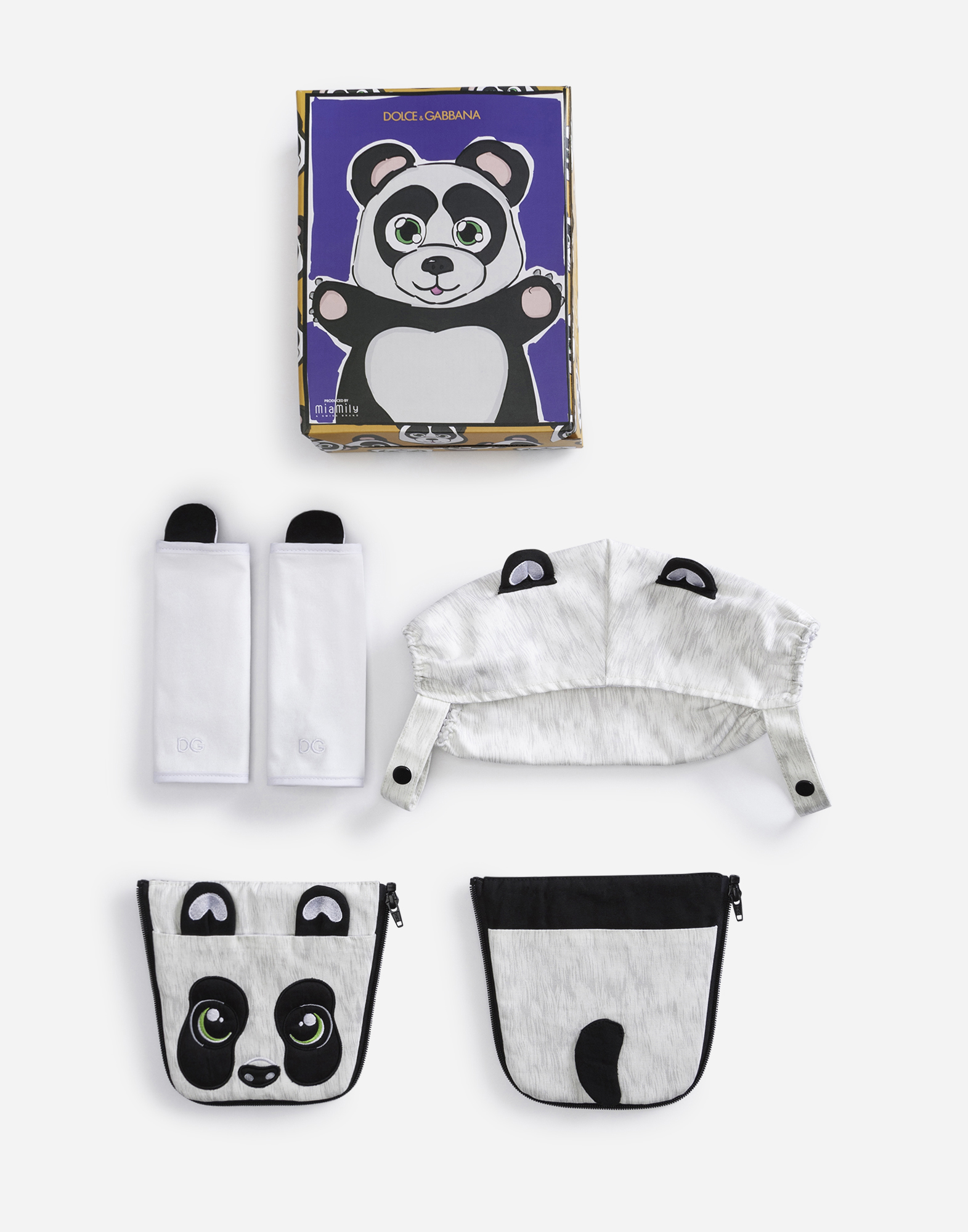 Dolce&Gabbana PANDA COVER FOR BABY CARRIER