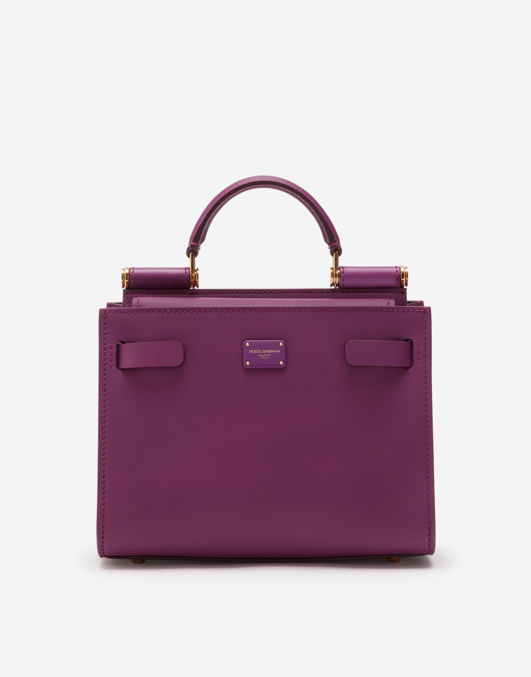Dolce & Gabbana Leathers SICILY 62 MINI BAG IN CALFSKIN