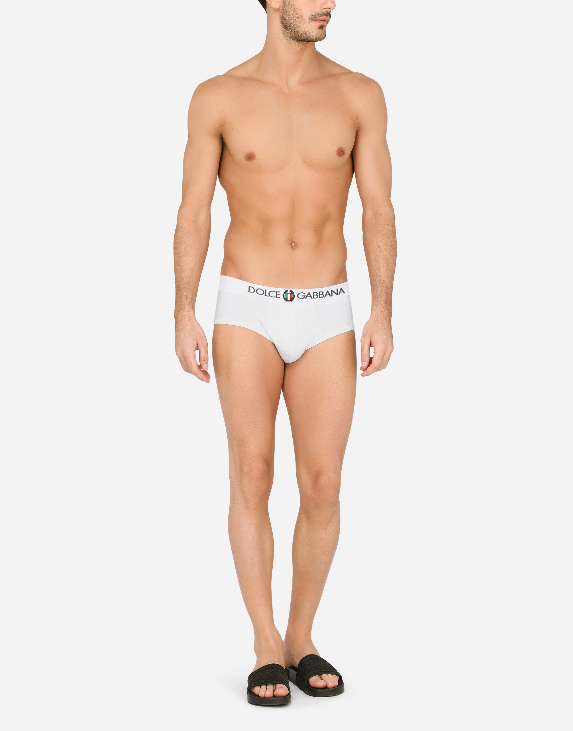Dolce & Gabbana BRANDO BRIEFS IN COTTON JERSEY