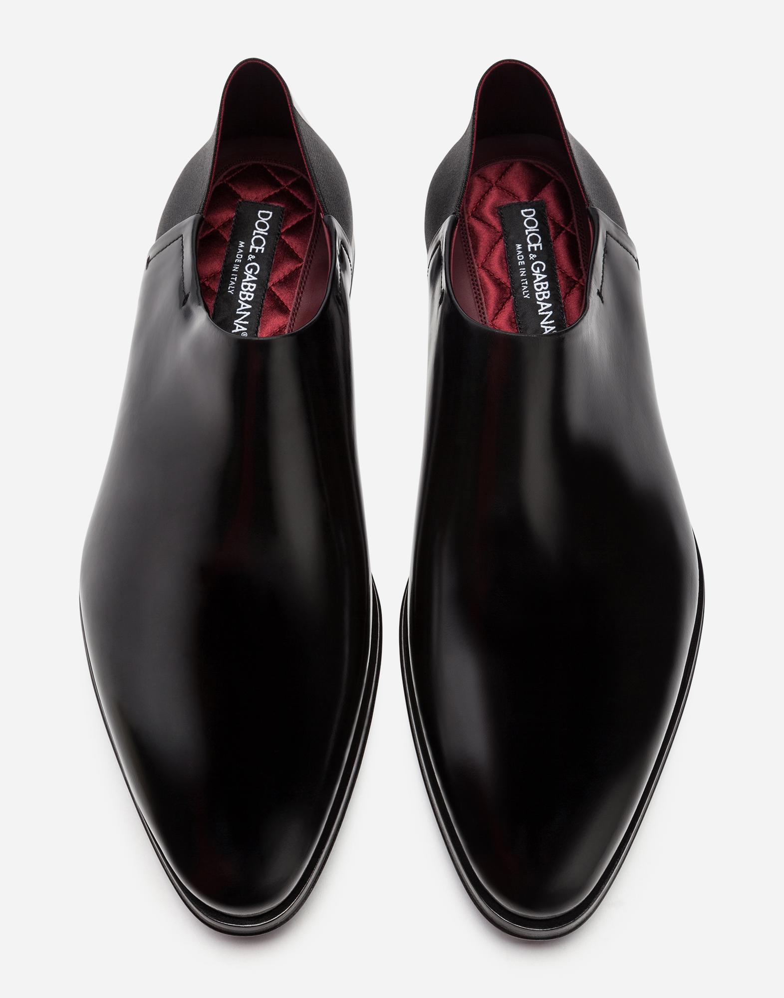 Dolce & Gabbana LOAFERS IN ANTIK CALFSKIN