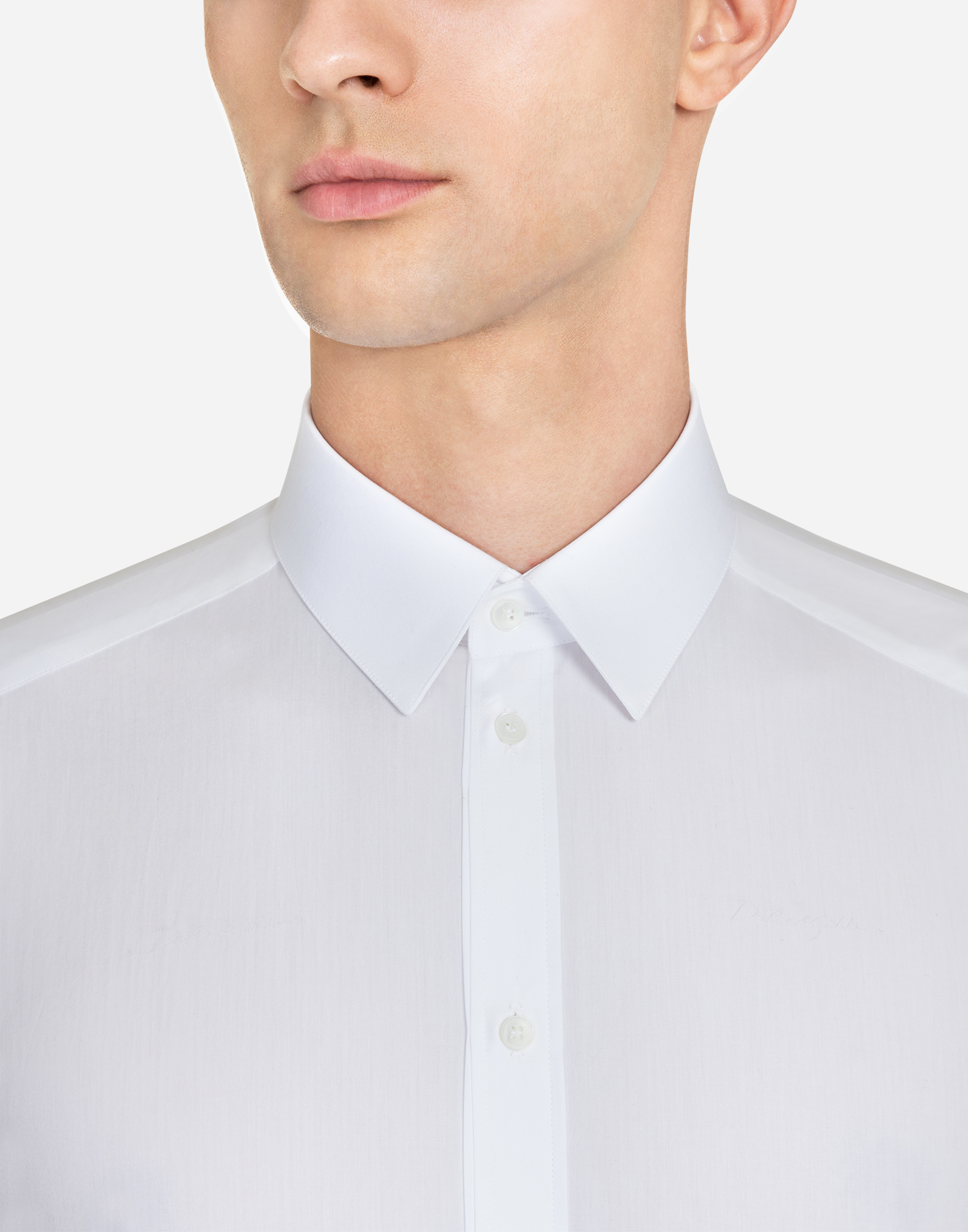 MARTINI FIT SHIRT IN JACQUARD COTTON