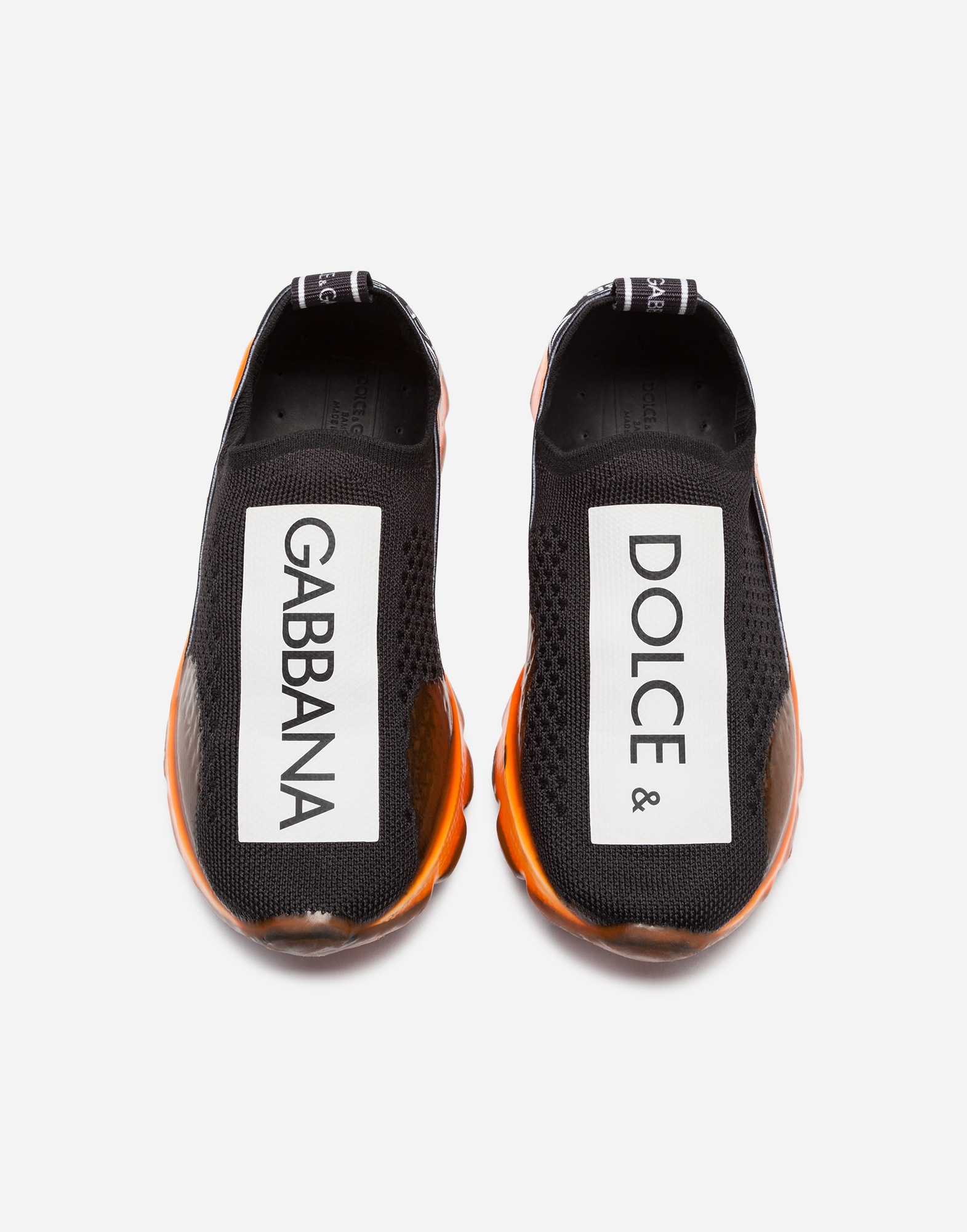 Dolce & Gabbana SORRENTO SLIP-ON LOGO SNEAKERS
