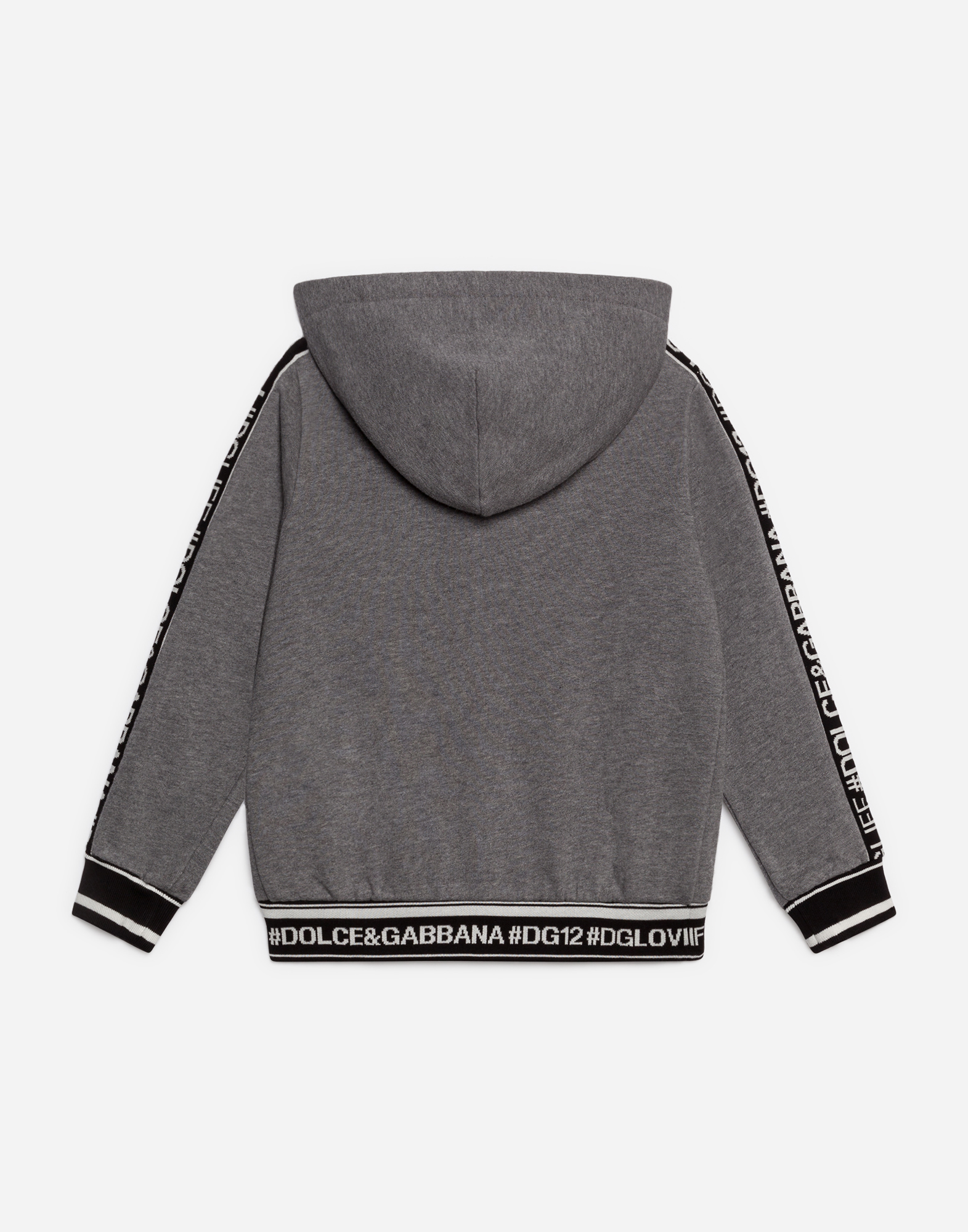 Dolce & Gabbana SWEATSHIRT IN COTTON WITH HOOD