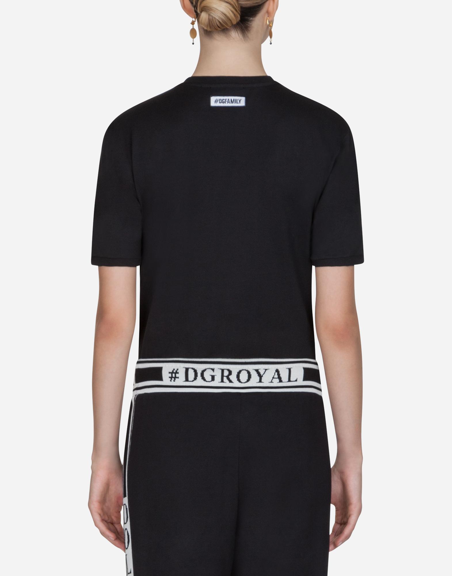 Dolce&Gabbana #DGFAMILY COTTON T-SHIRT