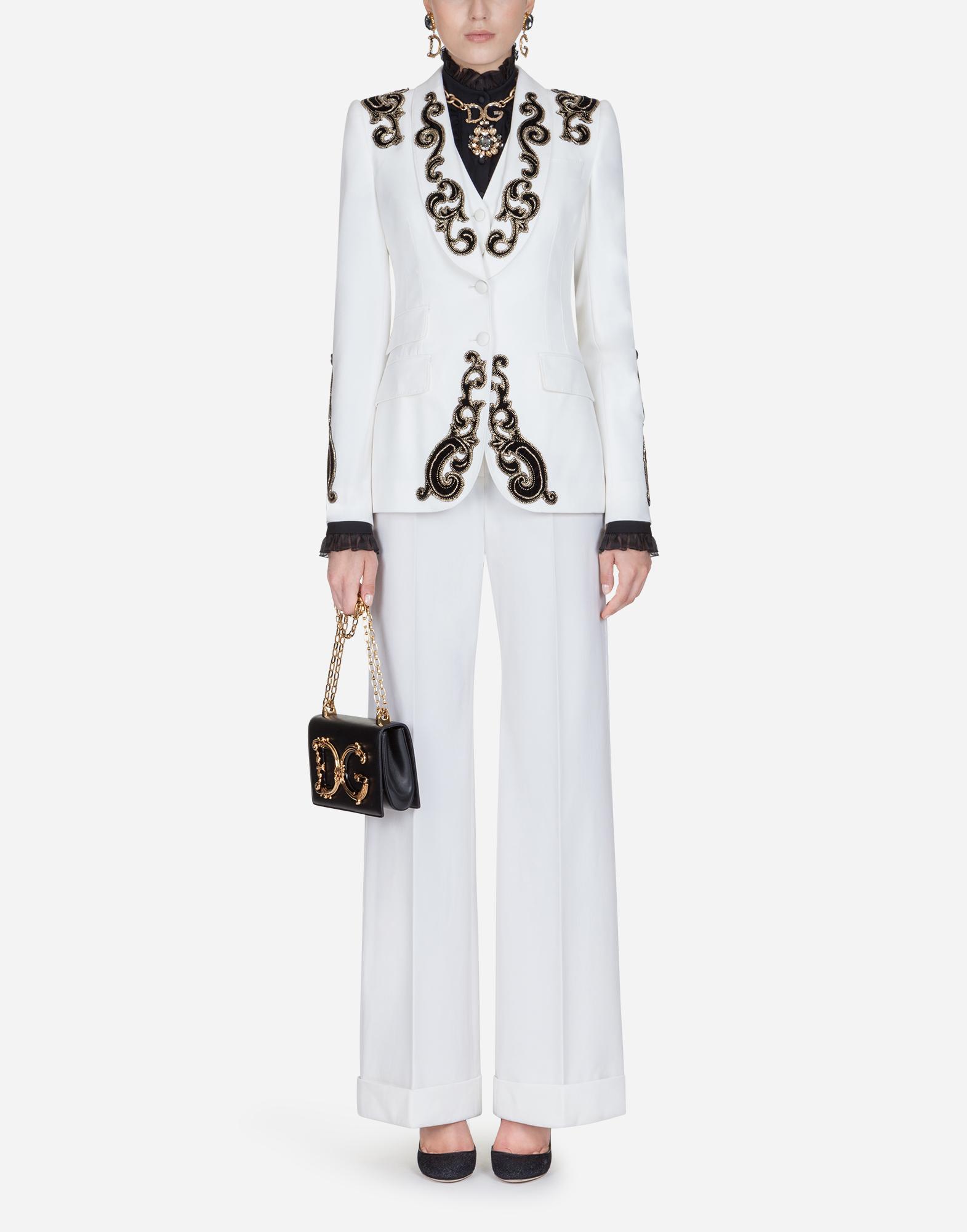 Dolce & Gabbana WOOL PALAZZO PANTS