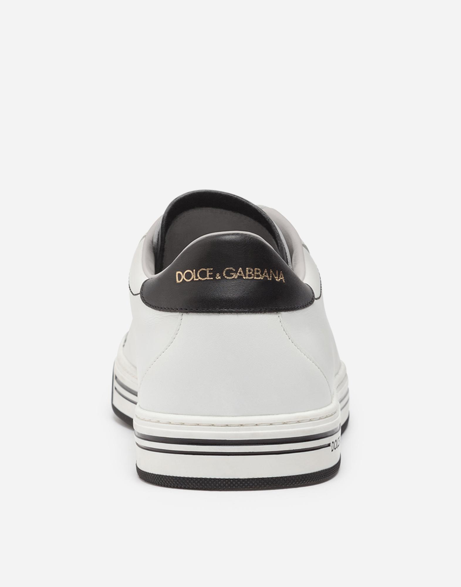 Dolce & Gabbana ROMA SNEAKERS IN NAPPA CALFSKIN