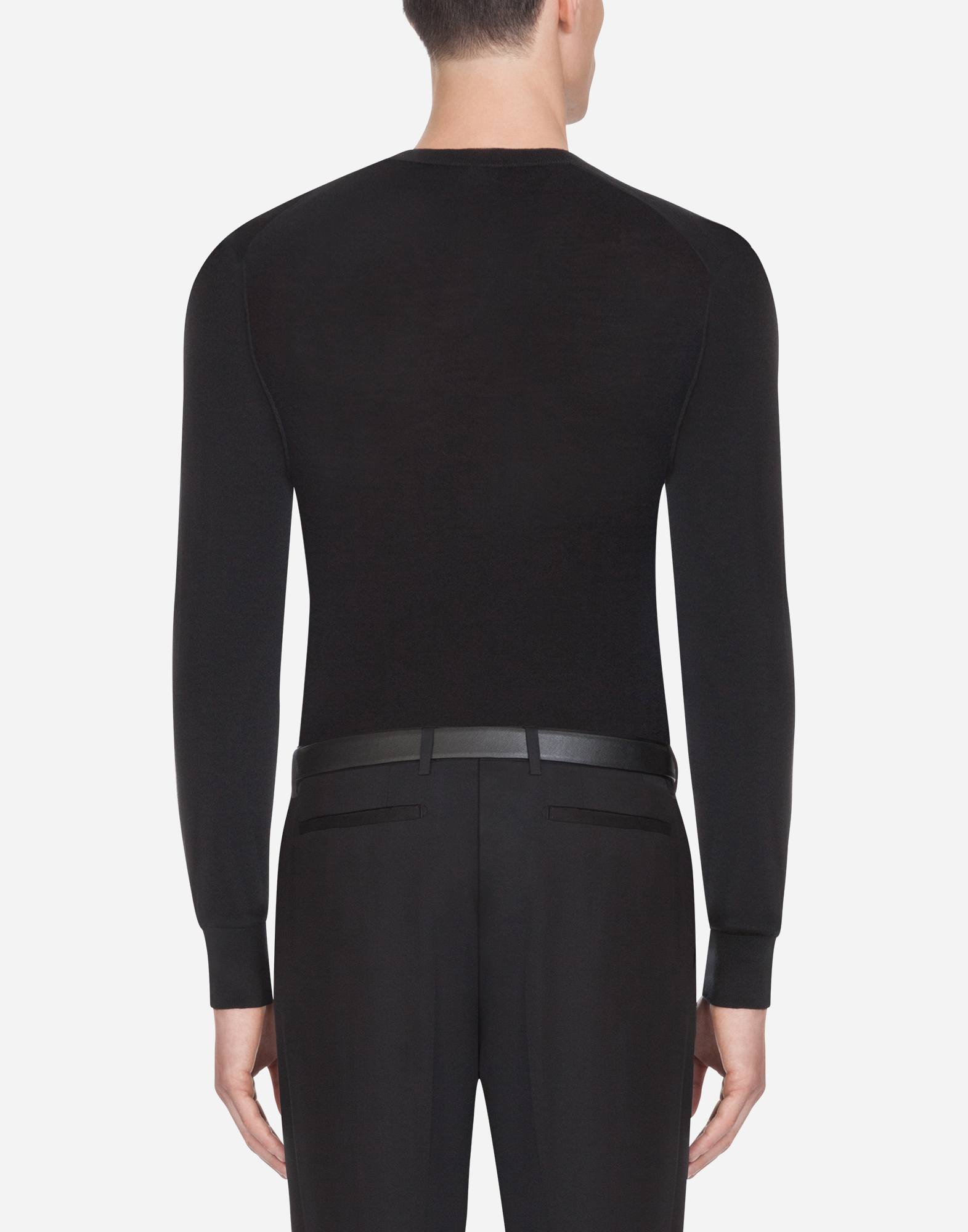 V-NECK SWEATER IN CASHMERE