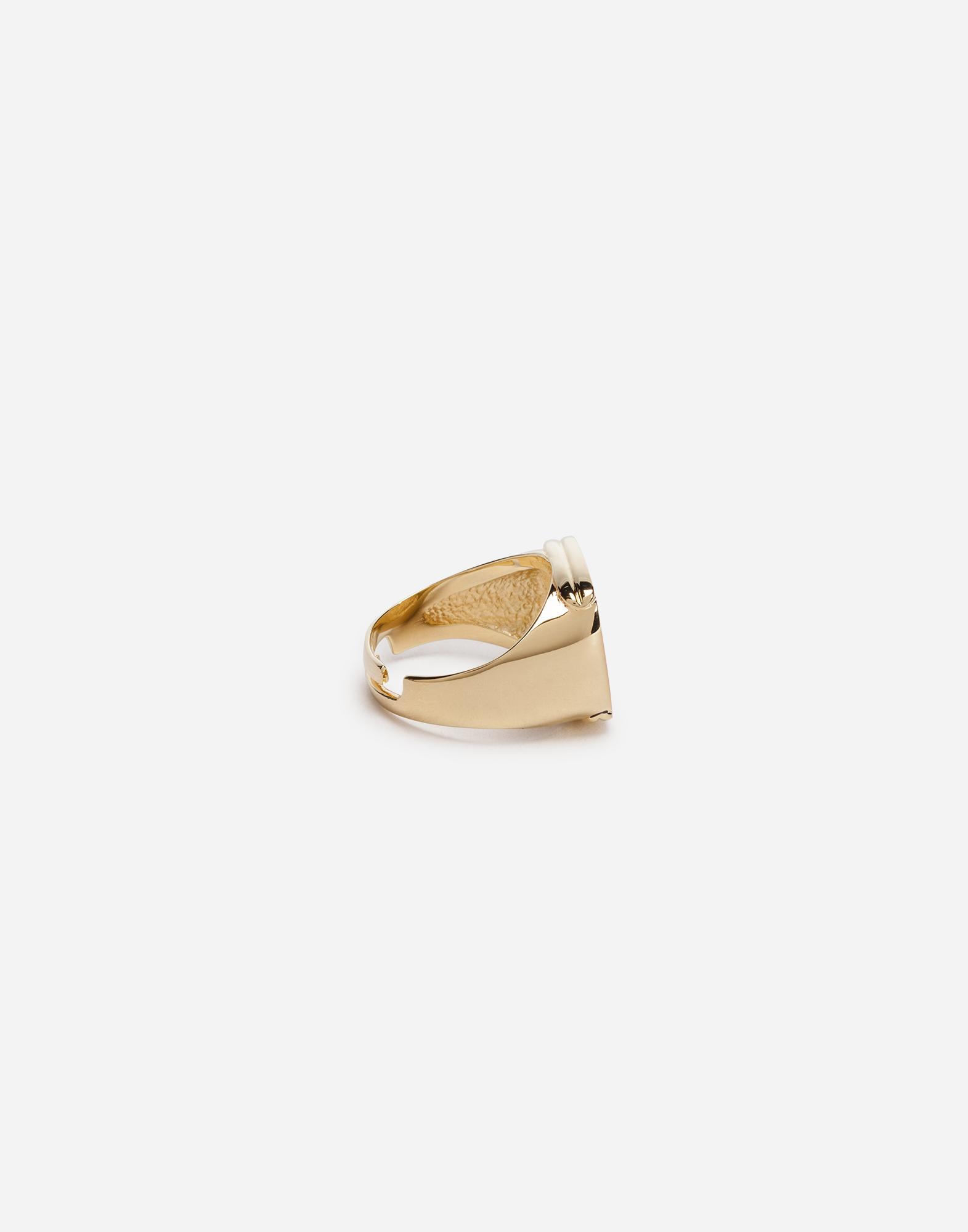 Dolce & Gabbana RING WITH LOGO