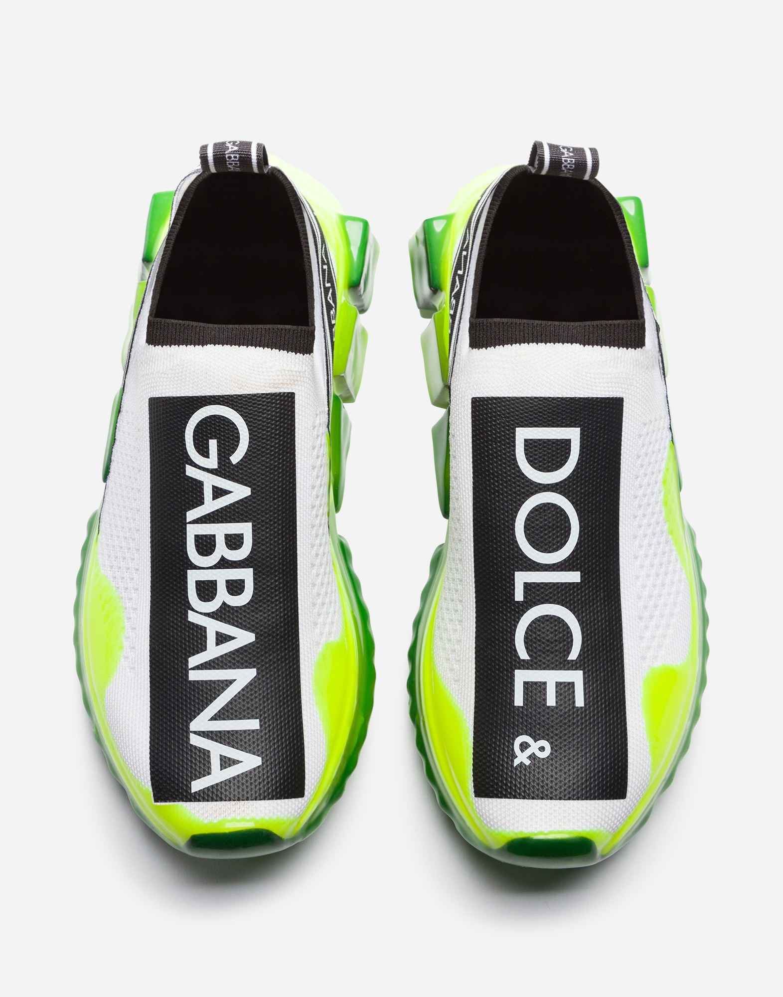 Dolce & Gabbana STRETCH MESH SORRENTO MELT SNEAKERS WITH LOGO
