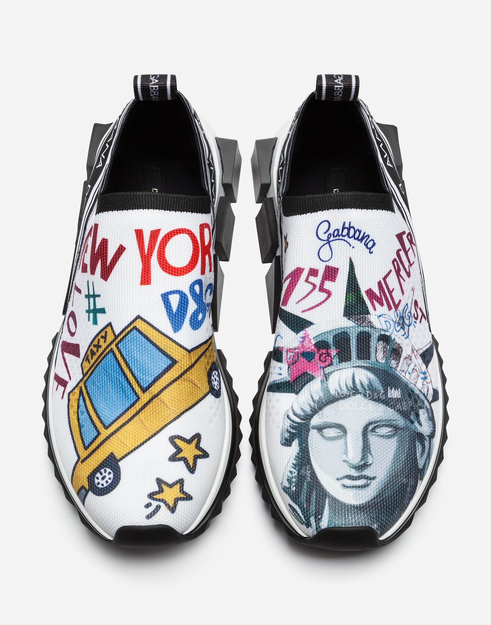 Dolce&Gabbana PRINTED SORRENTO SNEAKERS