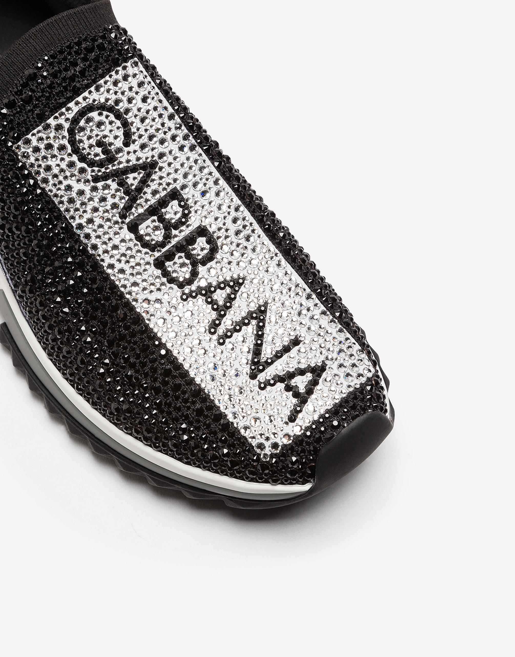 Dolce & Gabbana SORRENTO SNEAKERS WITH RHINESTONES