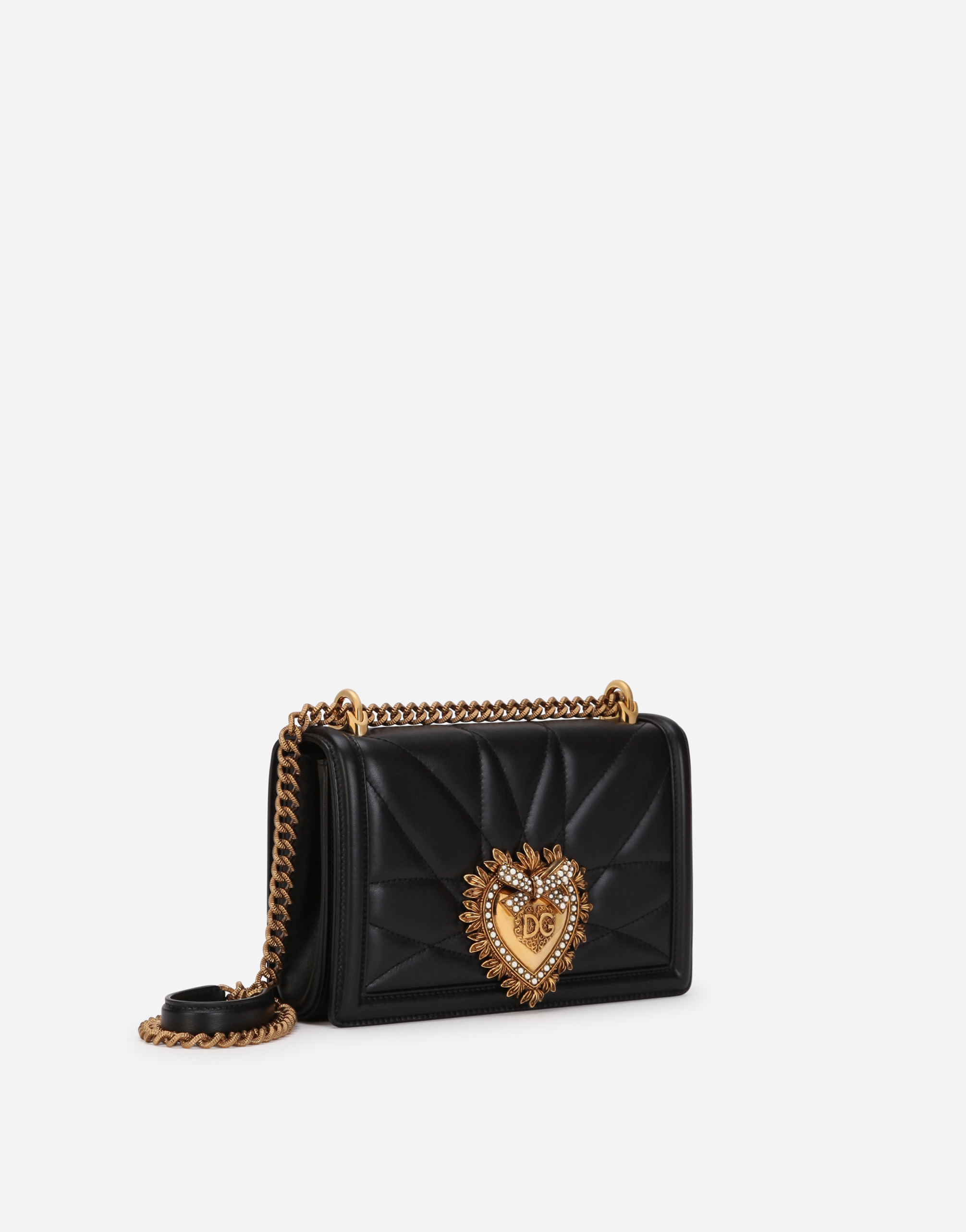 MEDIUM DEVOTION BAG IN QUILTED NAPPA LEATHER