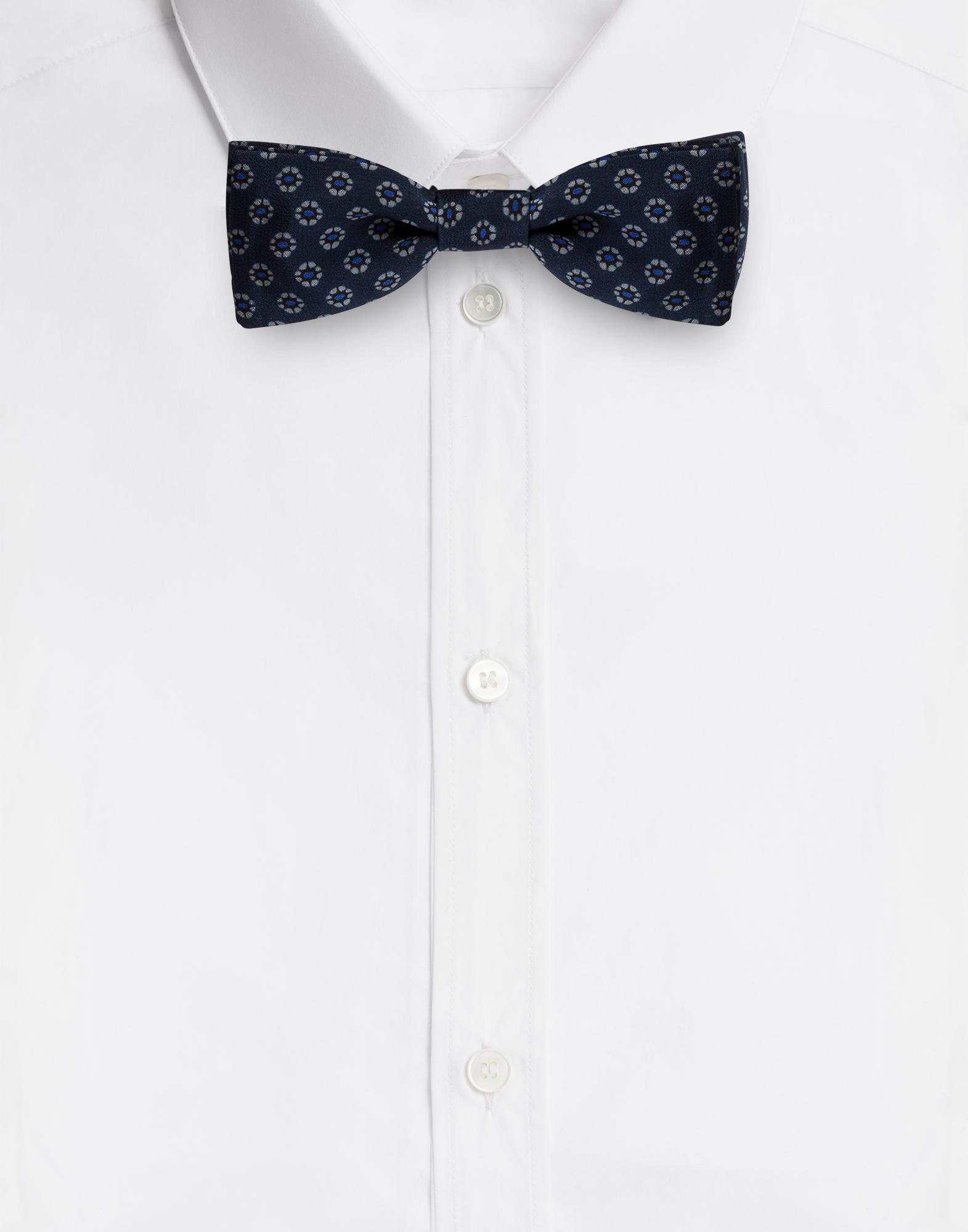 Dolce & Gabbana BOW-TIE IN PRINTED SILK