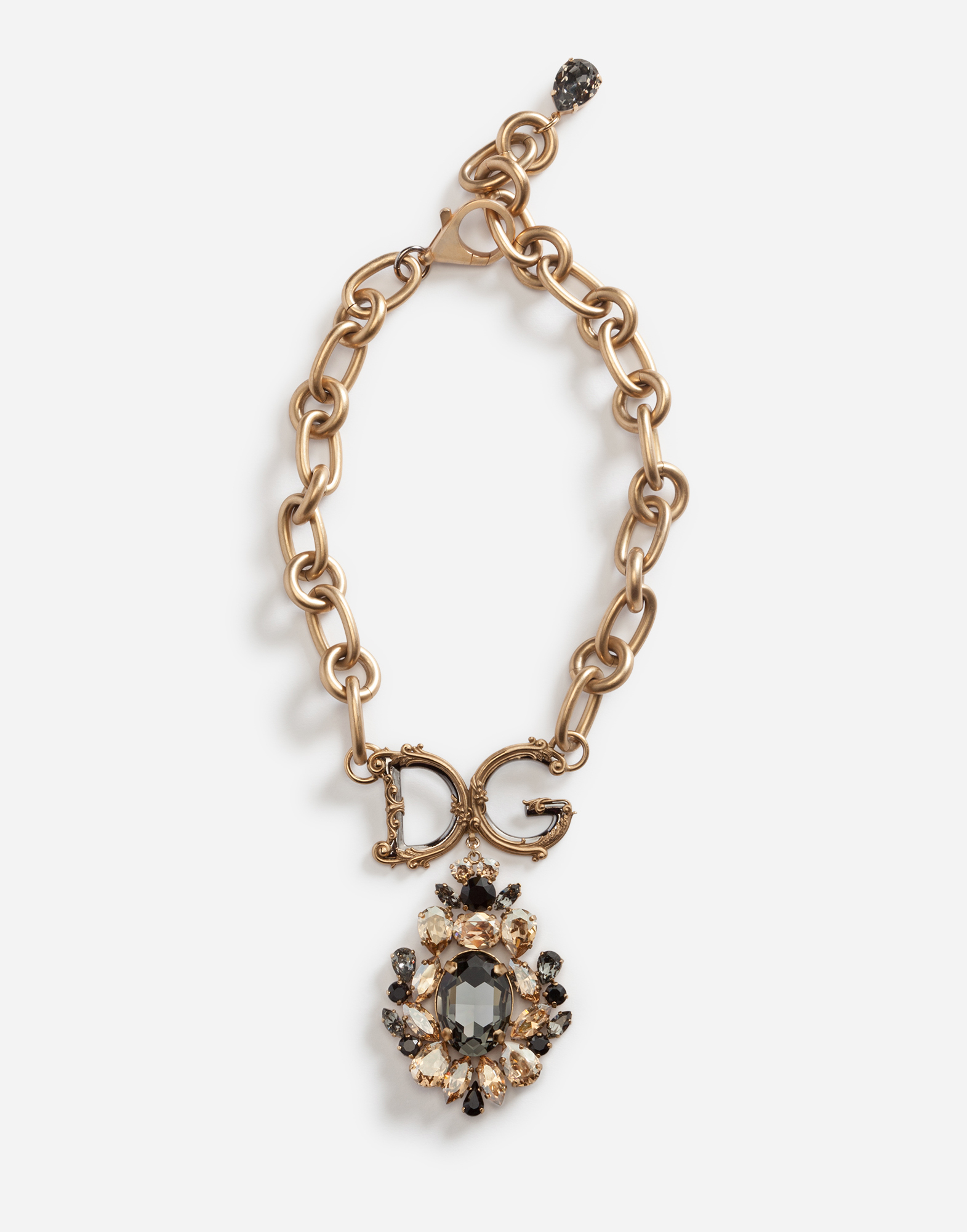 Dolce & Gabbana NECKLACE WITH DECORATIVE ELEMENTS