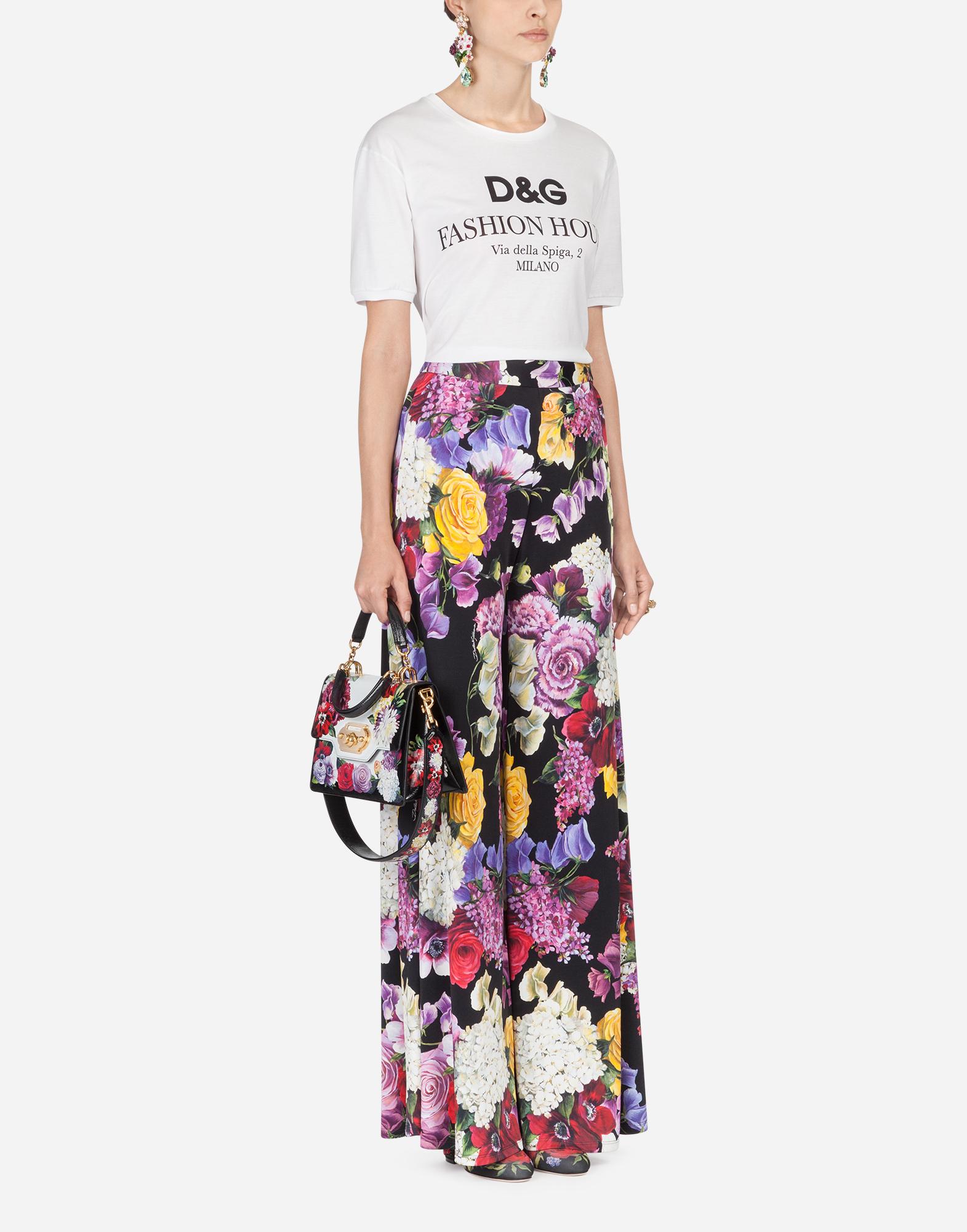 Dolce & Gabbana PRINTED COTTON T-SHIRT