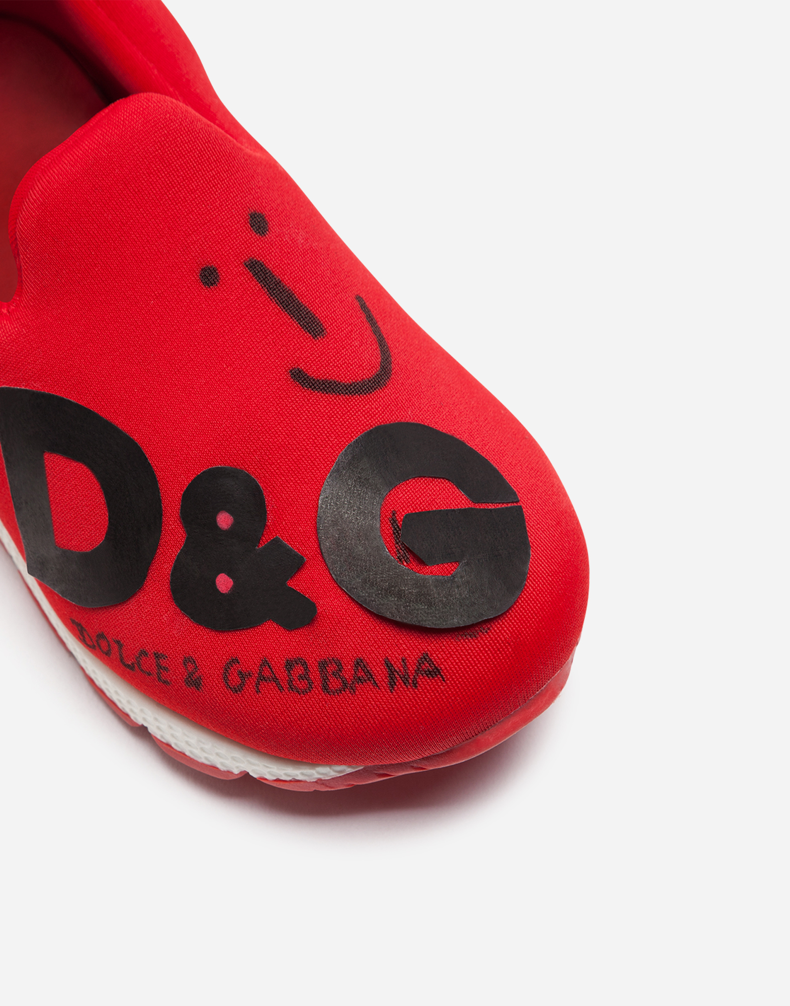 Dolce & Gabbana NEOPRENE SLIP-ON SNEAKERS