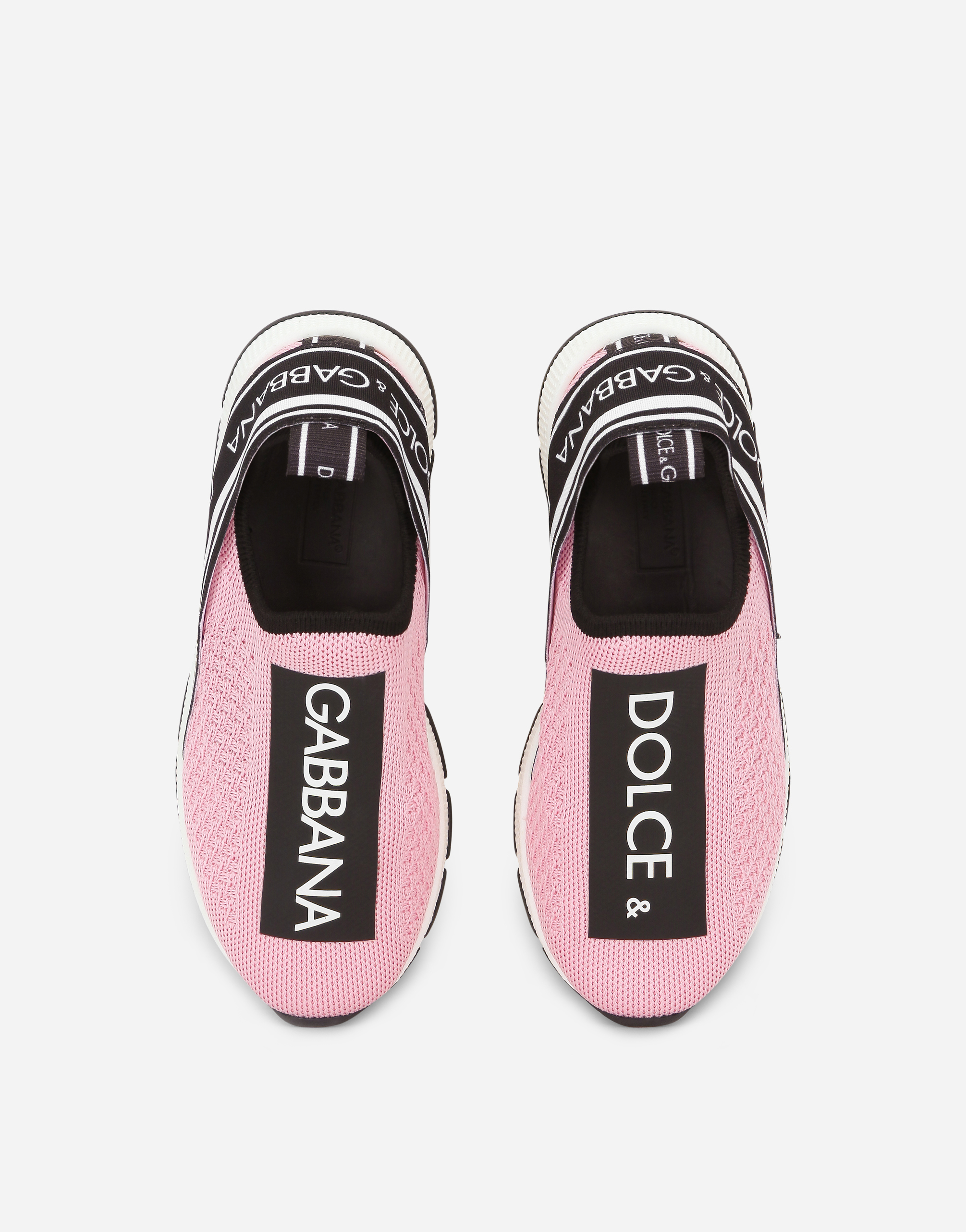 Dolce&Gabbana SORRENTO SLIP-ON LOGO SNEAKERS