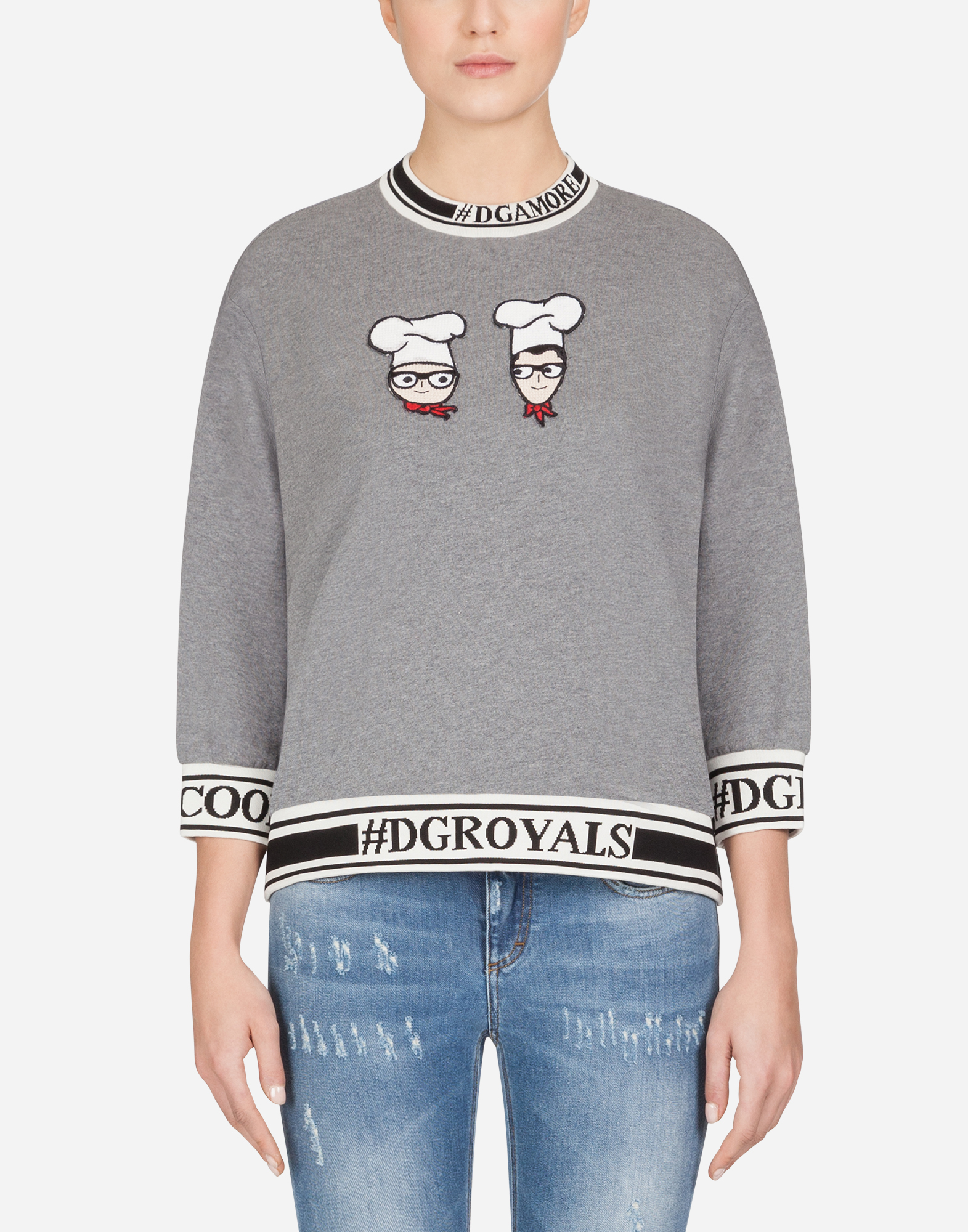 Dolce&Gabbana #DGFAMILY COTTON SWEATSHIRT