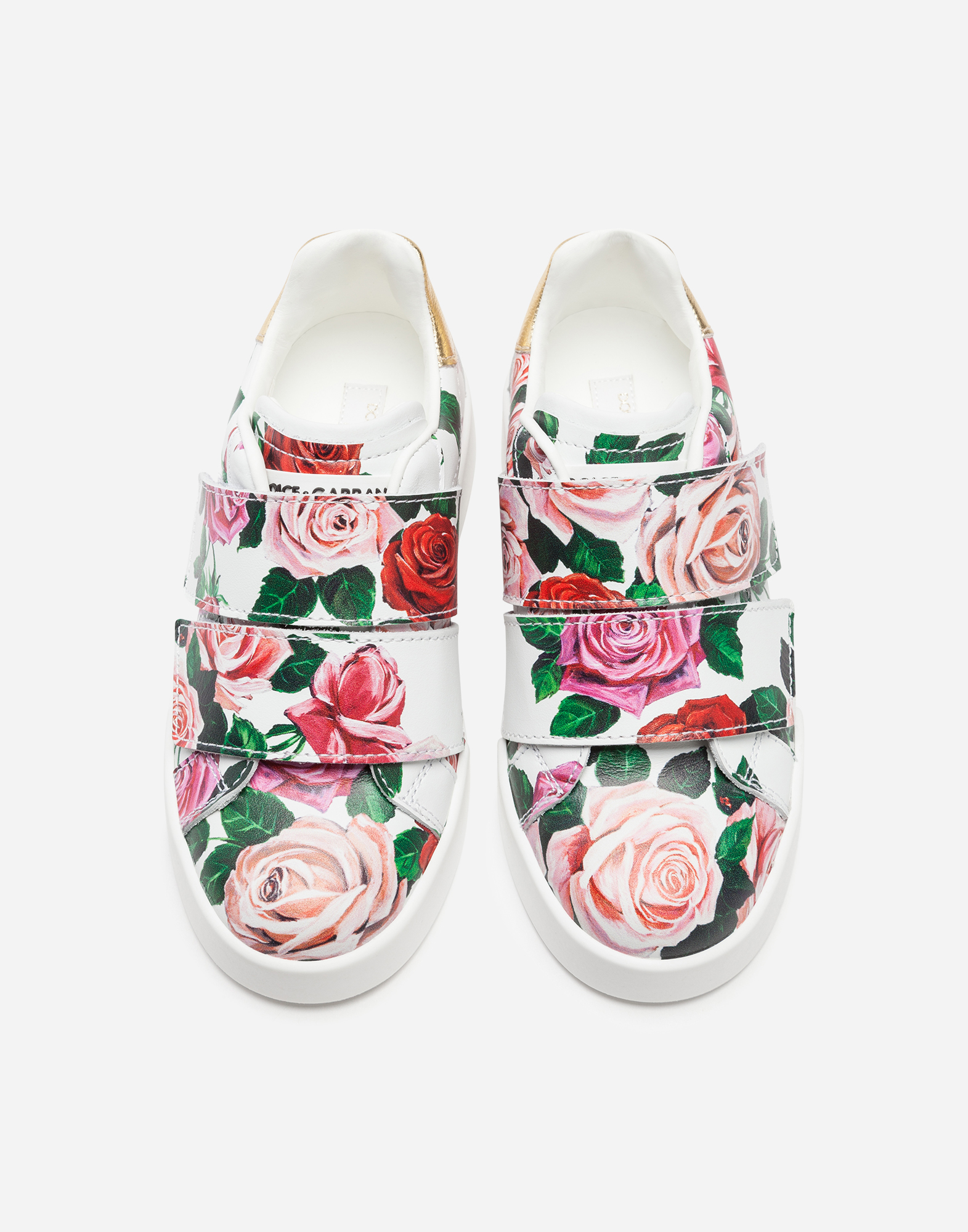 Dolce & Gabbana PORTOFINO LIGHT SNEAKERS IN PRINTED NAPPA