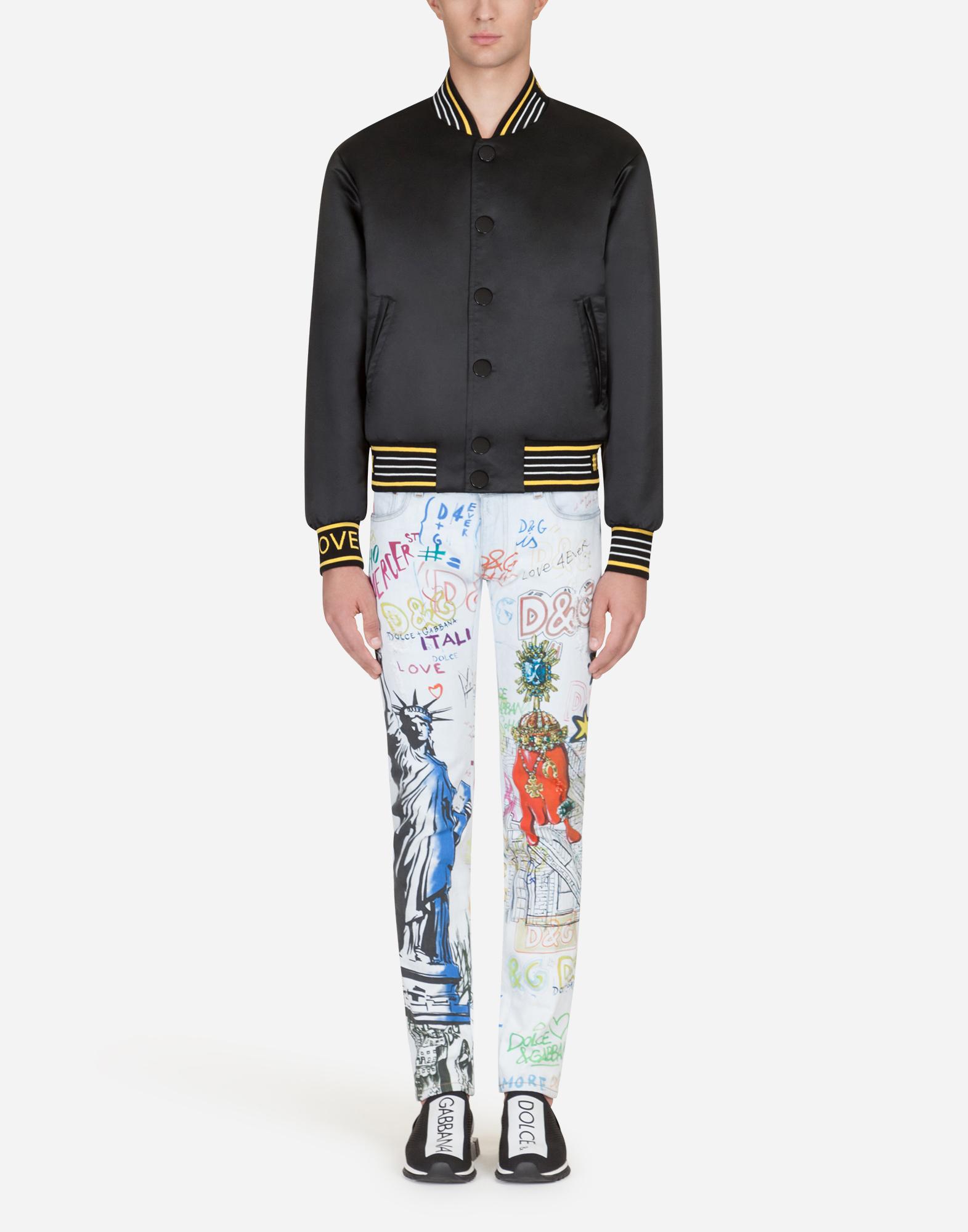 Dolce&Gabbana SKINNY FIT STRETCH JEANS