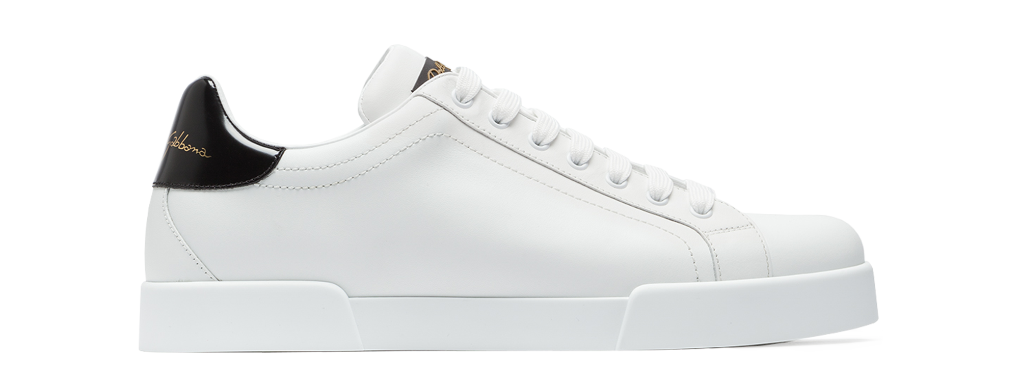 LEATHER SNEAKERS WITH SLOGAN PATCH AND APPLICATIONS 1