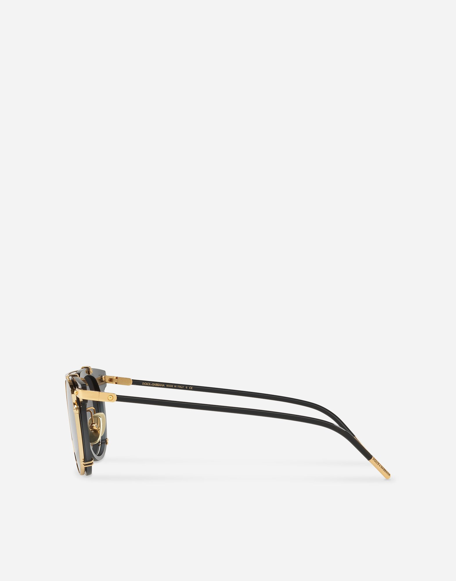 Dolce&Gabbana PANTHOS SUNGLASSES WITH METAL FRAME