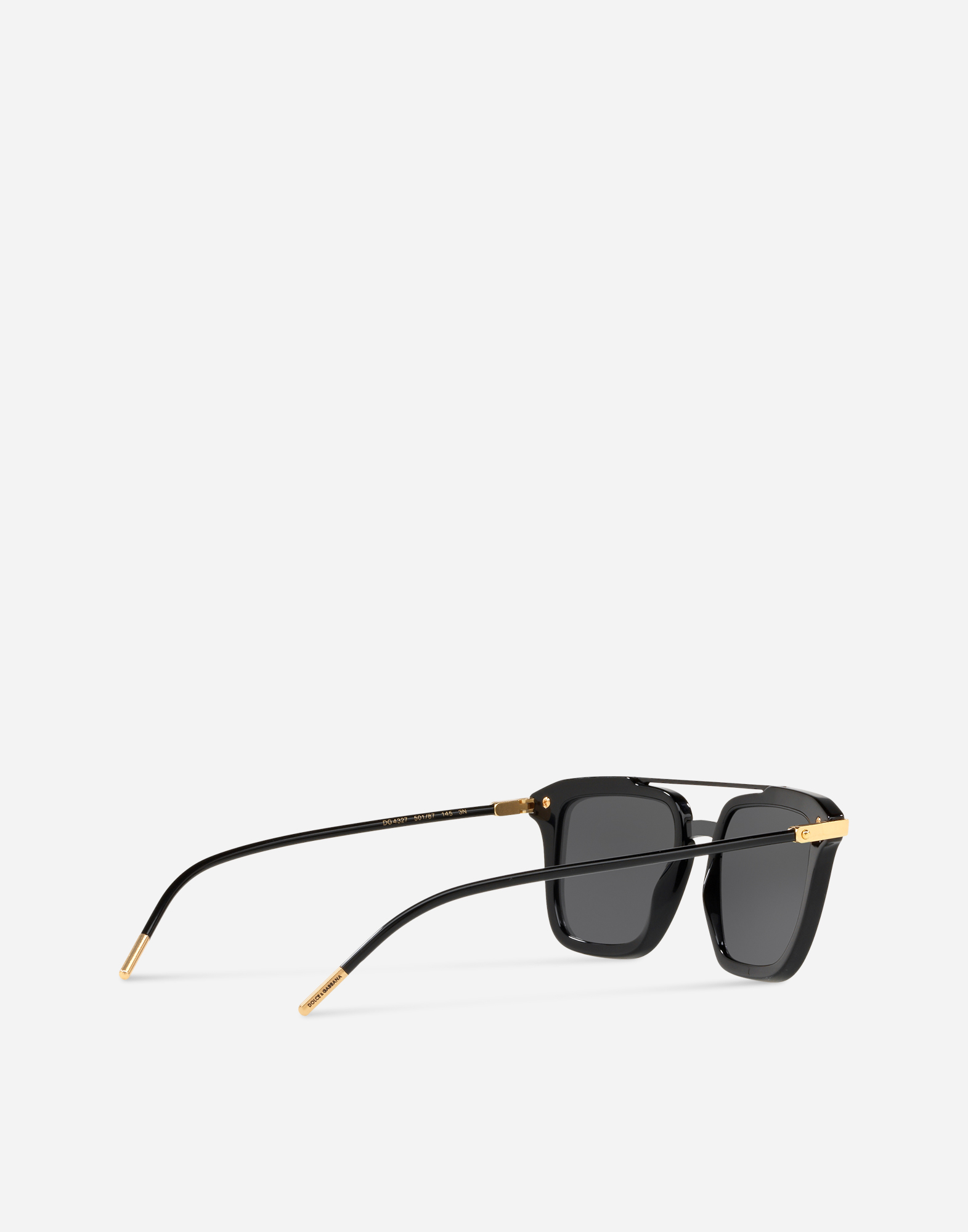 SQUARE SUNGLASSES WITH DOUBLE BRIDGE