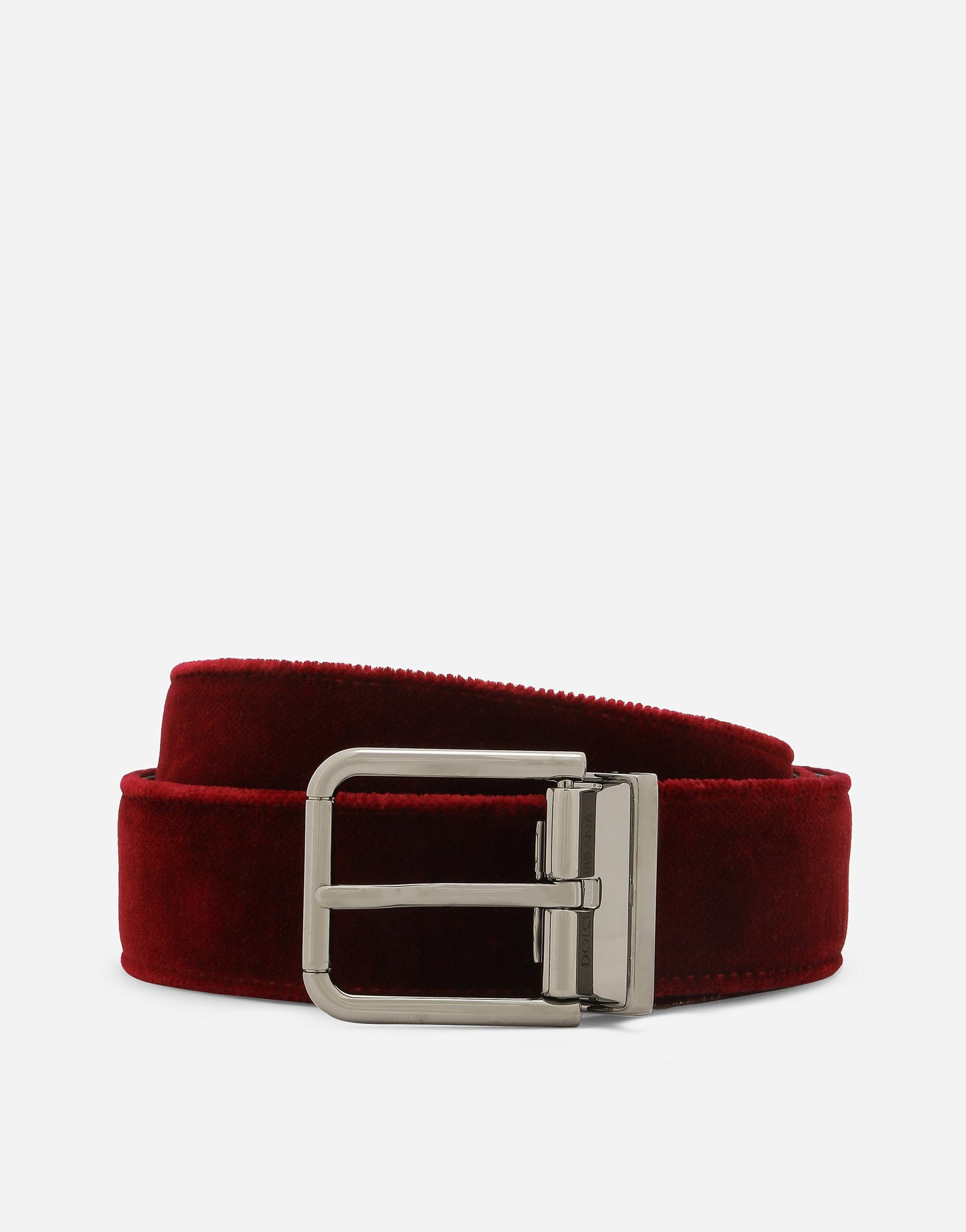 Dolce&Gabbana VELVET BELT