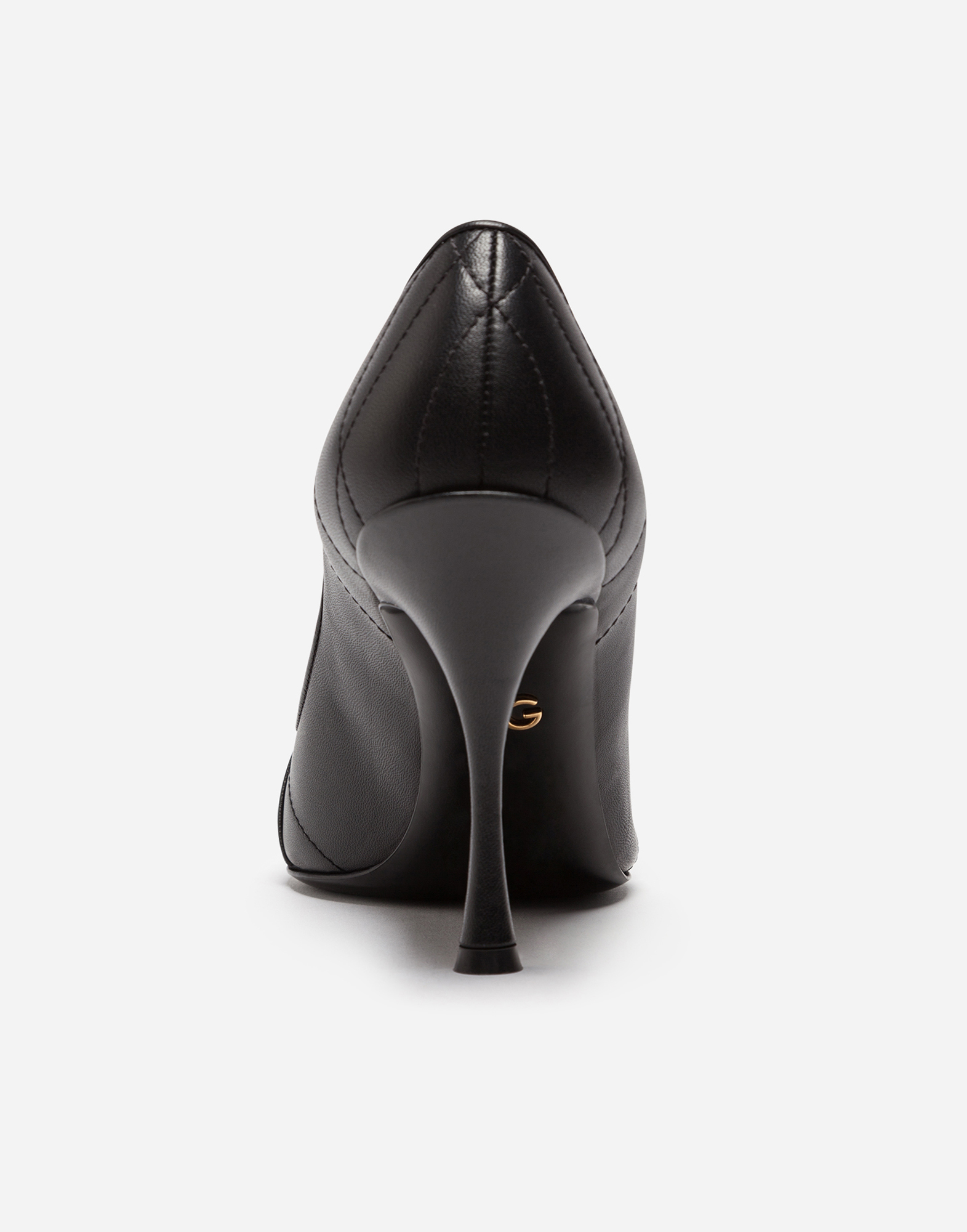 DEVOTION PUMPS IN MATELASSÉ NAPPA LEATHER