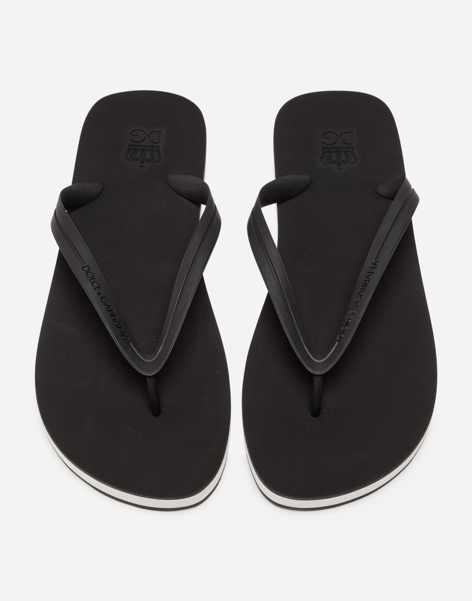 RUBBER THONG SANDALS