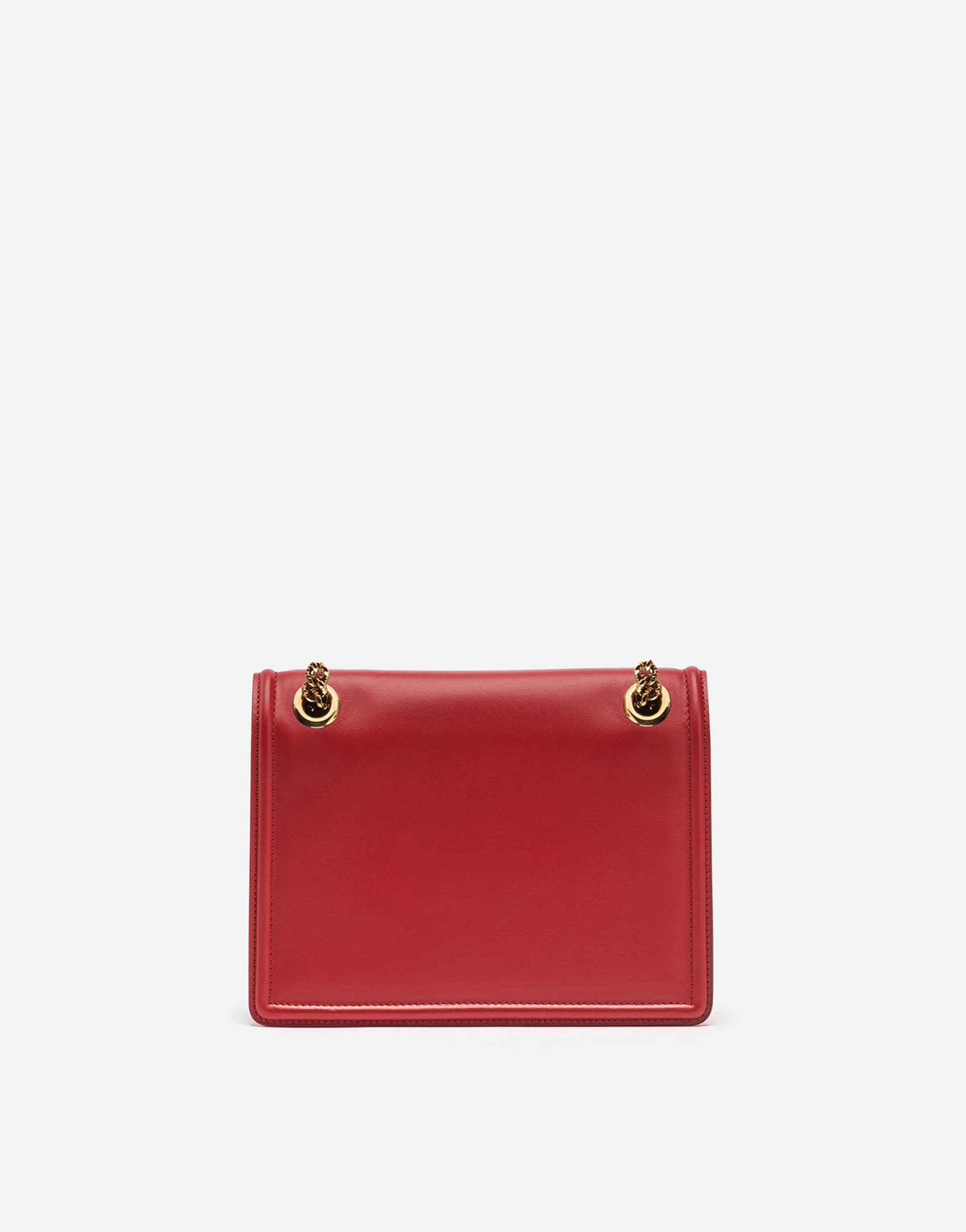 Dolce&Gabbana MEDIUM DEVOTION BAG IN SMOOTH CALFSKIN LEATHER