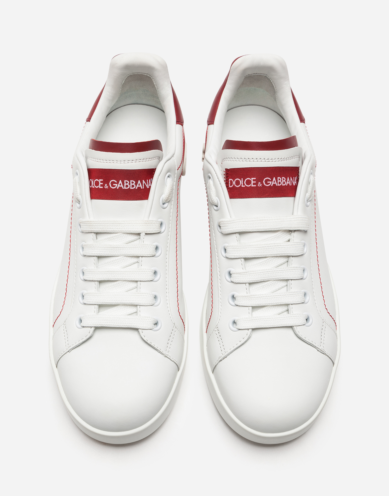 Dolce&Gabbana CALFSKIN NAPPA PORTOFINO SNEAKERS
