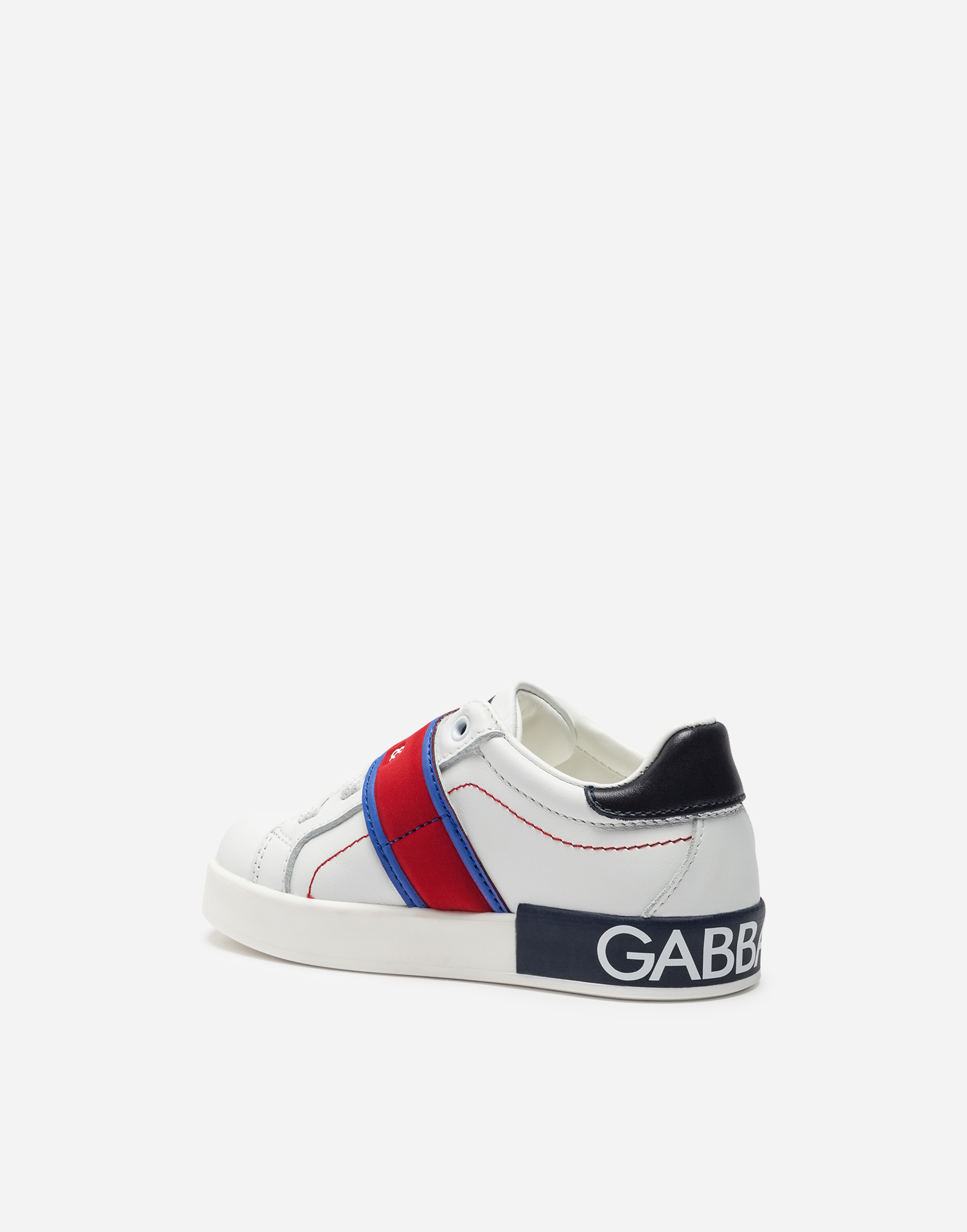 Dolce & Gabbana NAPPA LEATHER SNEAKERS