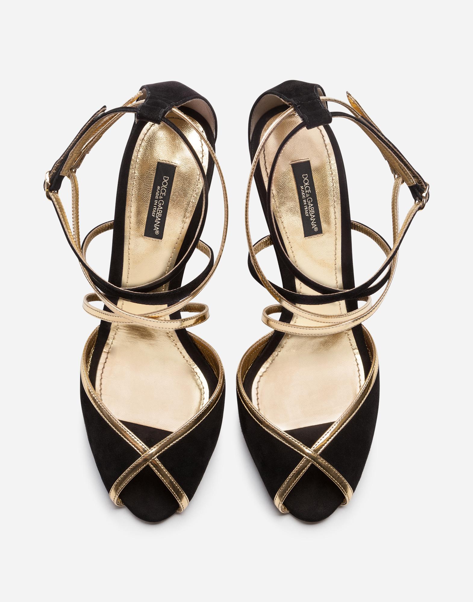 Dolce & Gabbana SANDALS IN A MIX OF MATERIALS