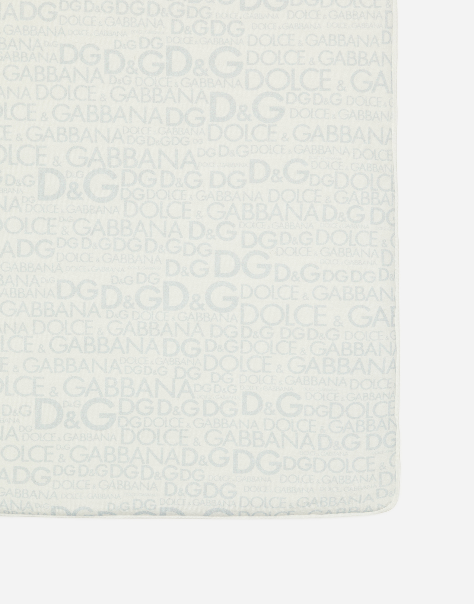 Dolce&Gabbana PRINTED COTTON BLANKET