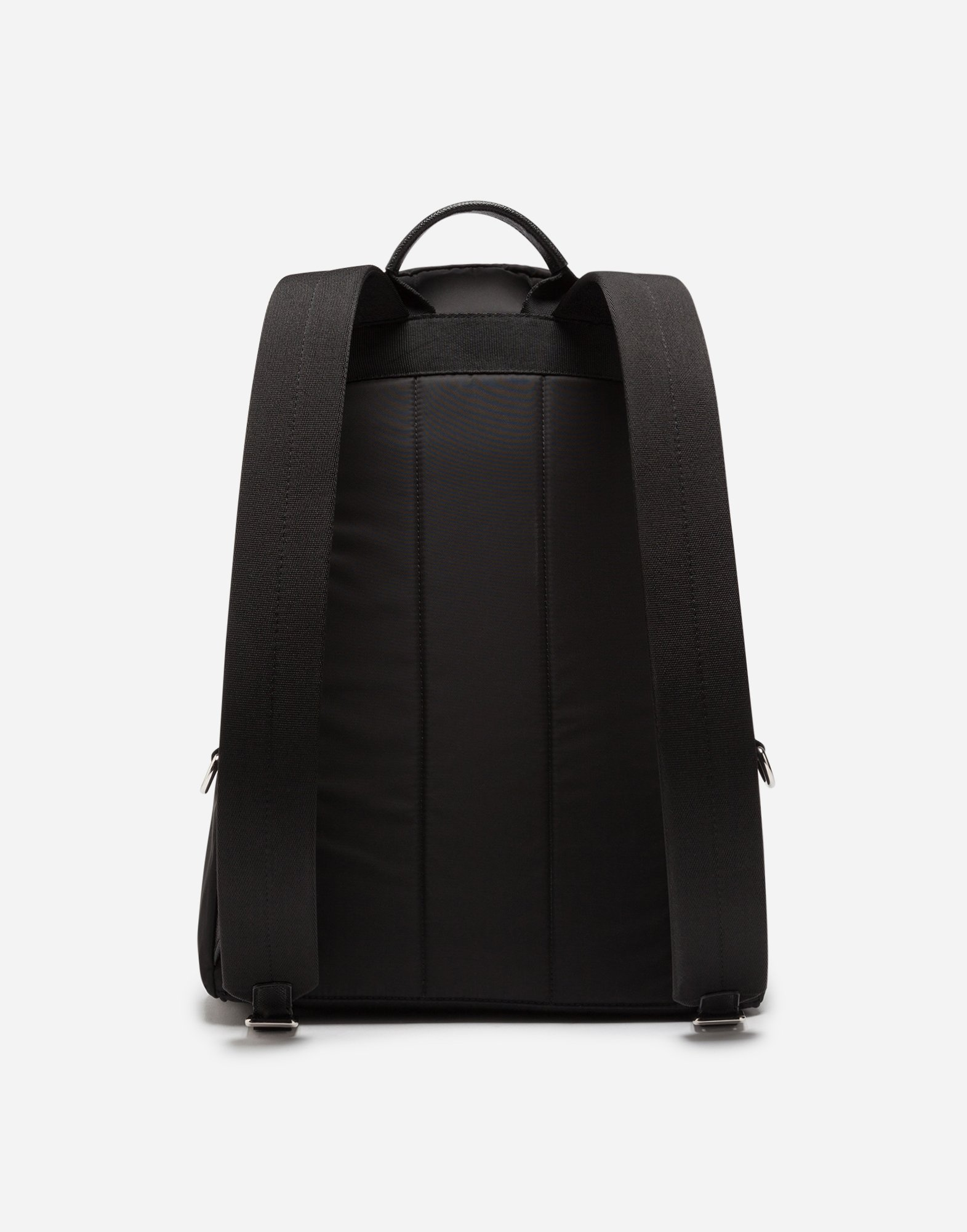 Dolce & Gabbana VULCANO BACKPACK IN NYLON WITH DESIGNERS' PATCHES