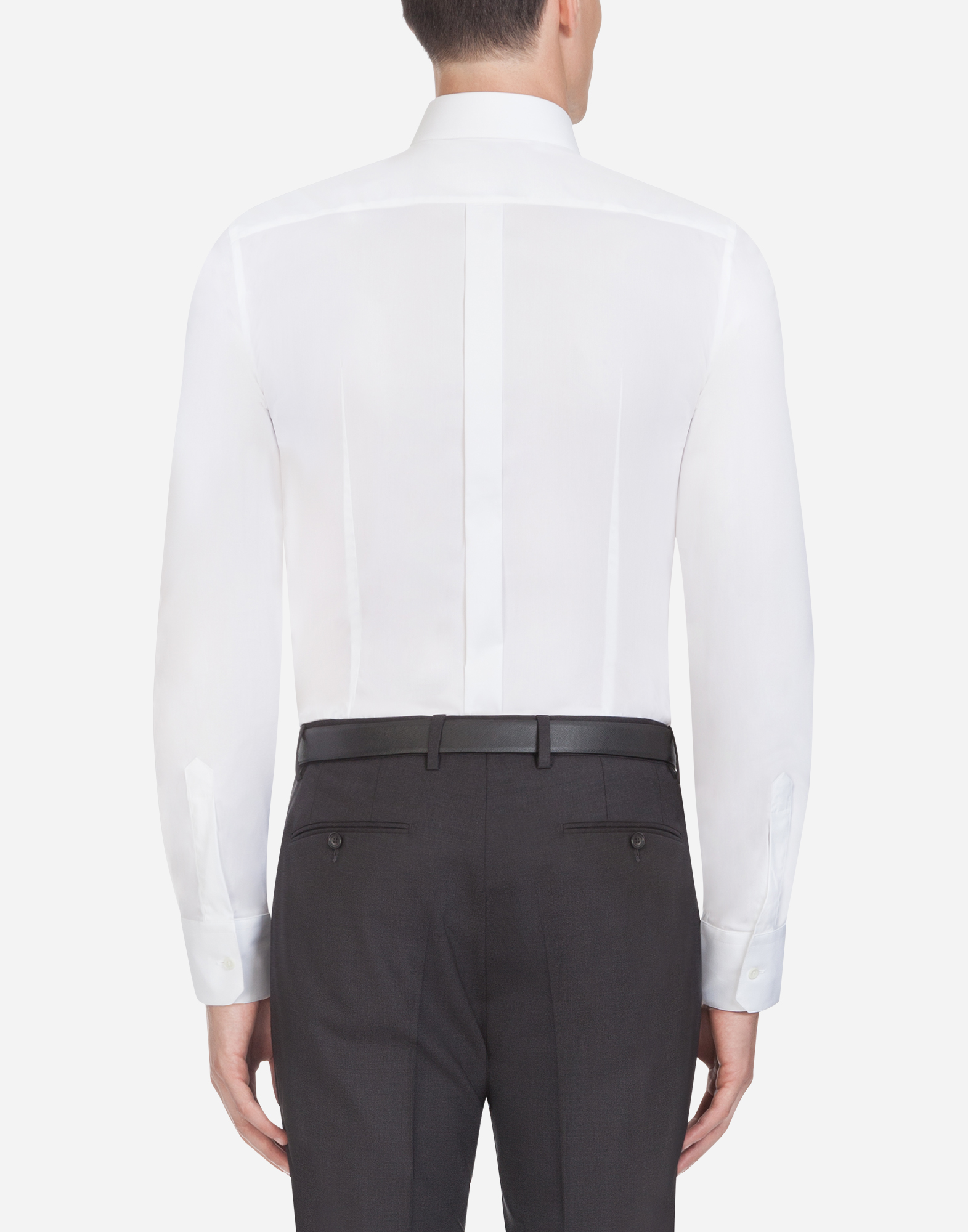 Dolce & Gabbana SHIRT IN STRETCH COTTON POPLIN